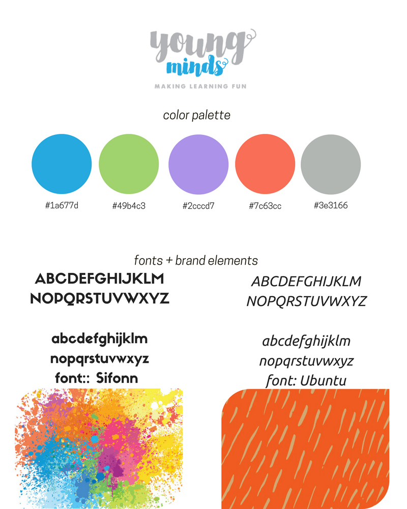 Young Minds Branding Guide