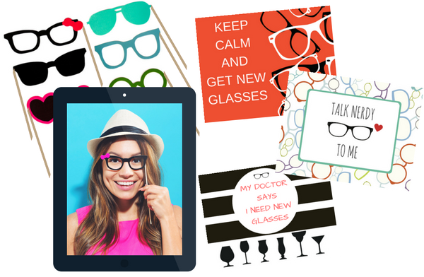 PERSONAL TOUCH - We'll send you monthly ideas for inspiration +each quarter you receive a new pack of signs &photo booth props. Your office team can use the provided iPad to take photos &videos that we will post to your social profiles to boost interest &engagement
