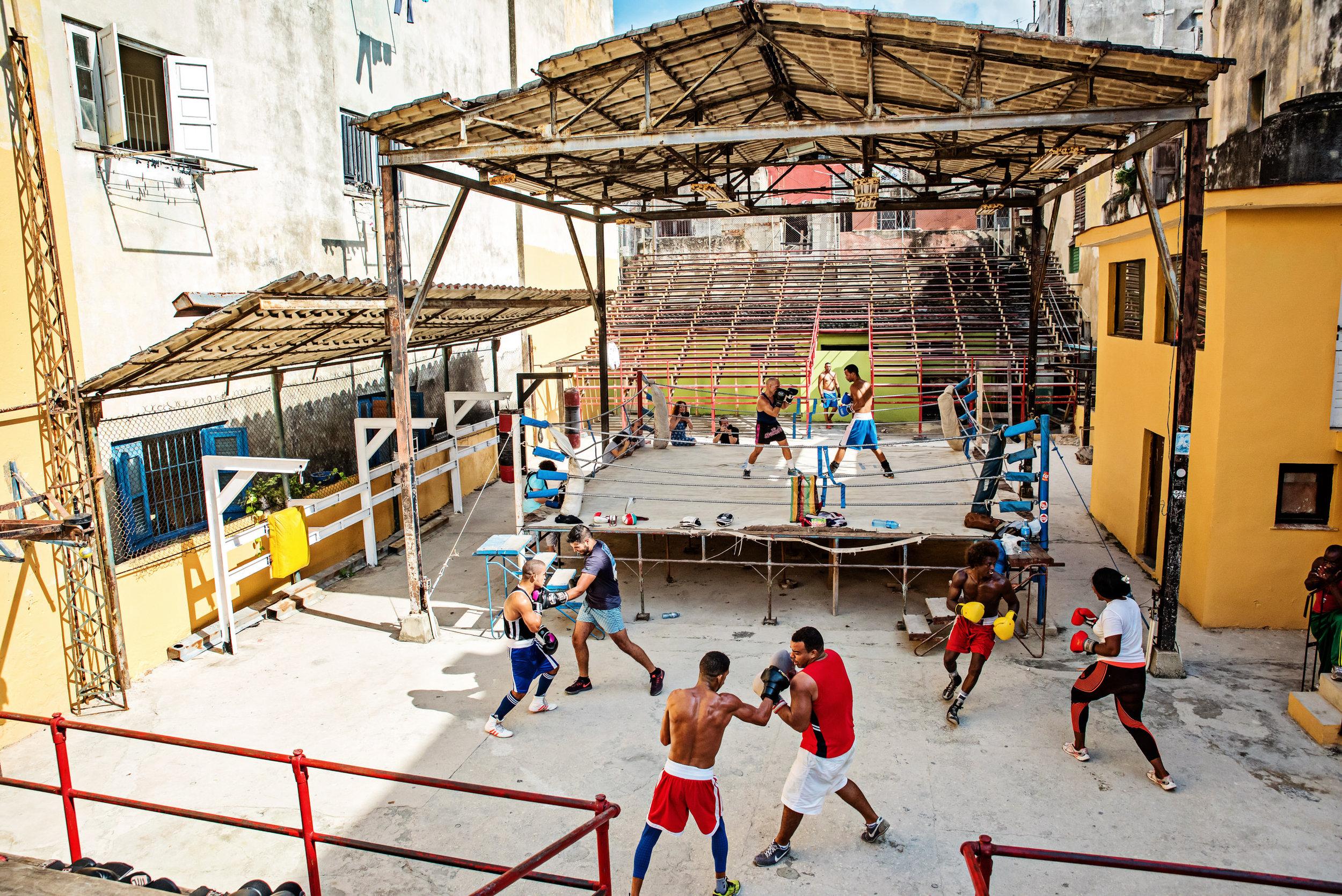 Rafael Trejo Gym - Havana Cuba — Kathleen Hertel Photography