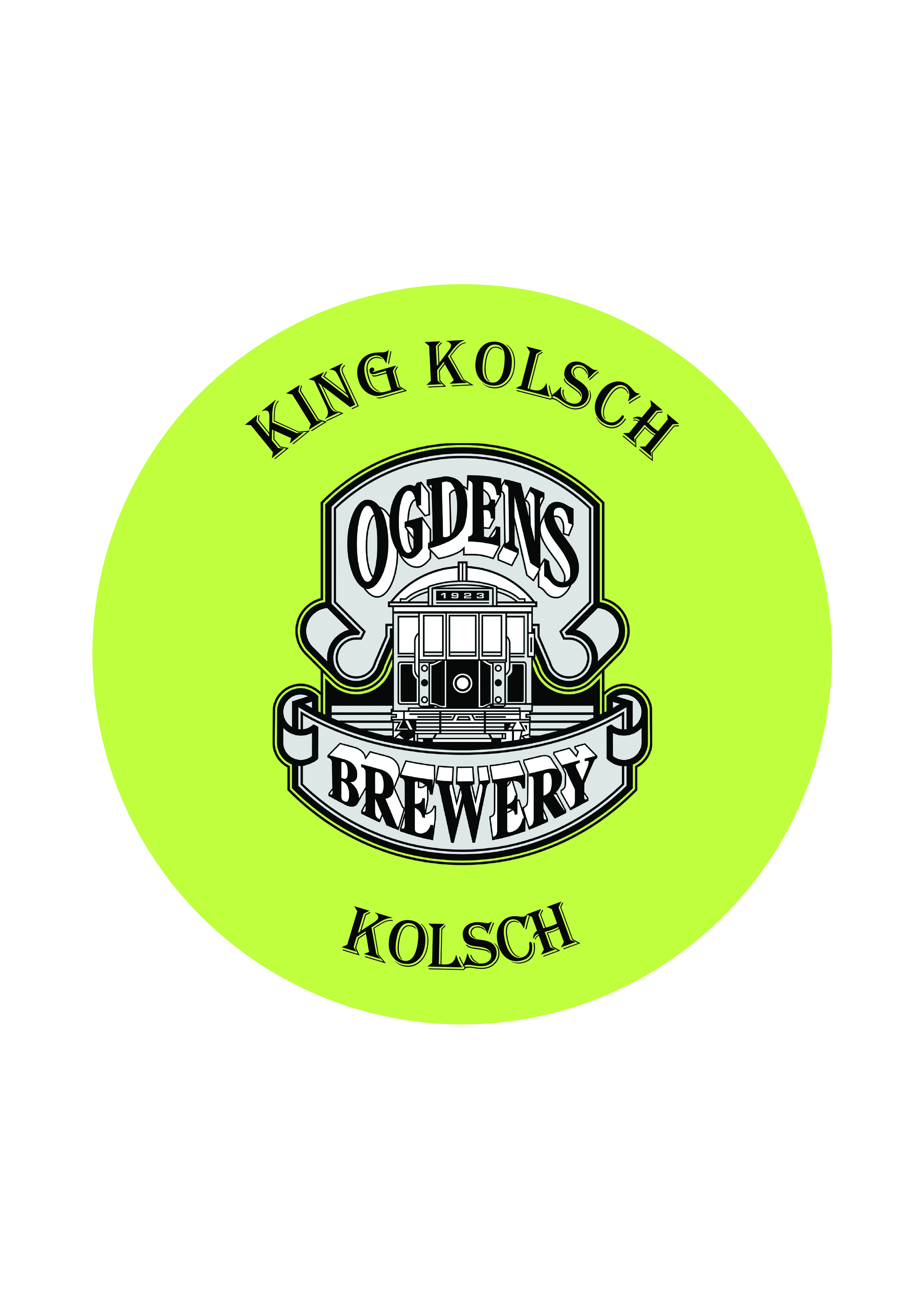 King Kolsch   Kolsch   4.8% - A classic German Pale ale. The style hails from the Cologne region in Germany. This ale is fermented at cooler temperatures to produce a less fruity ale character and is clear and attractive in appearance.