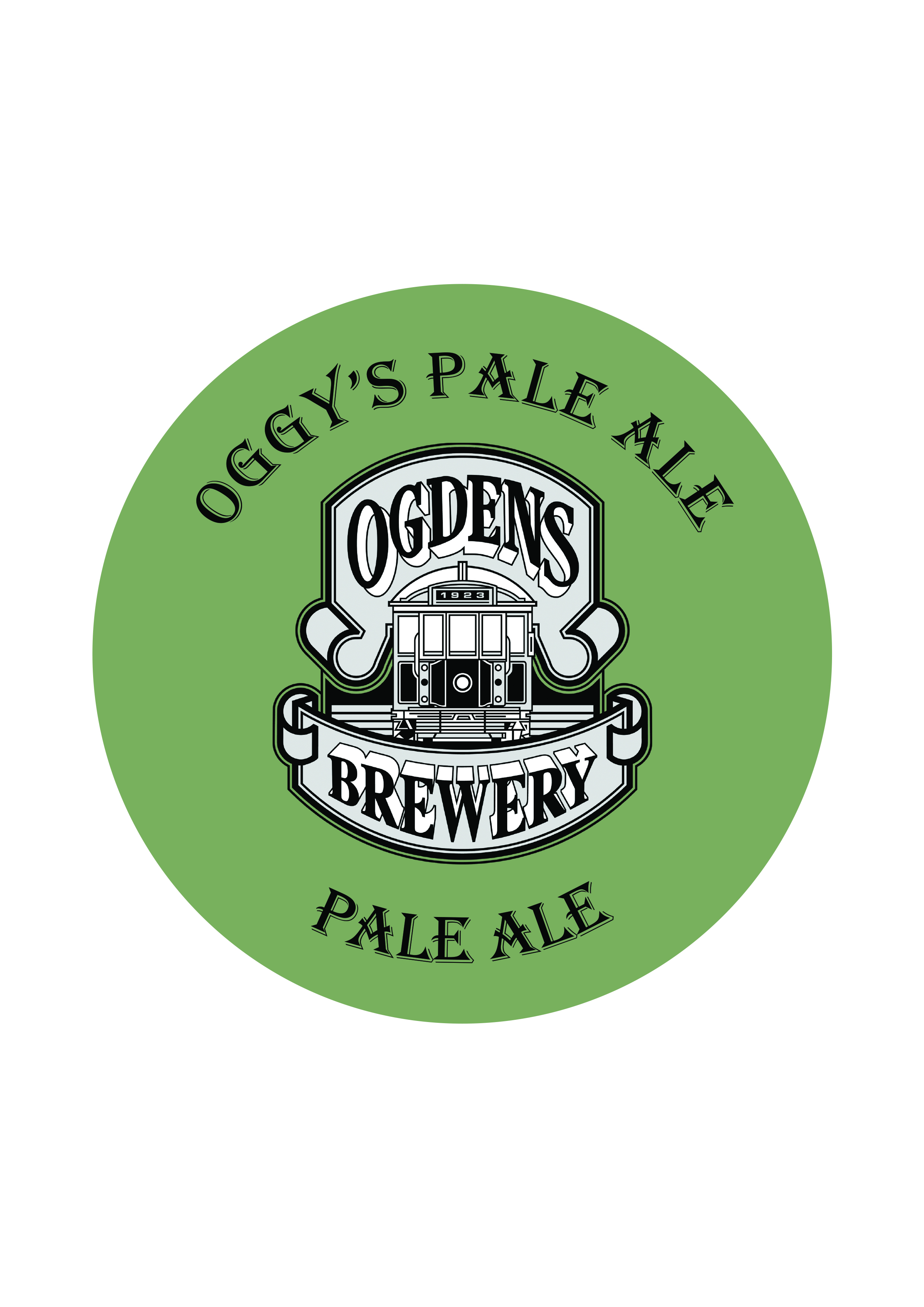 Oggy's Pale Ale   Pale Ale   5.5% - A classic American Pale ale, these range from medium bitterness to assertively bitter with a prominent US hop flavour and aroma. This beer is made with pale malt and a small amount of colour malts. This ale has aromas of tropical fruit, citrus and stone fruit.