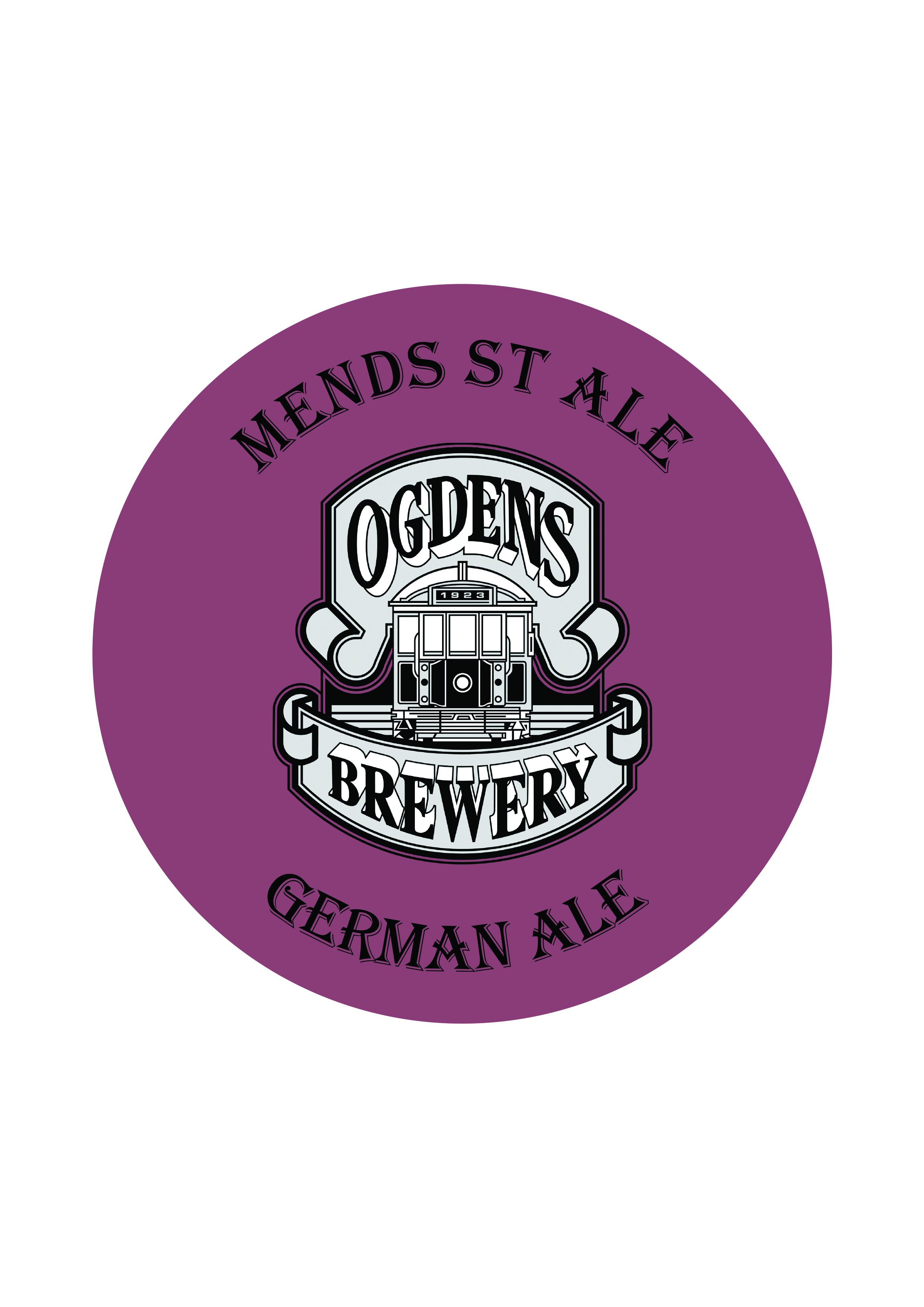 Mends St Ale   German Ale   5.0% - Based on a classic German Altbier from the Altstadt in Dusseldorf 'Alt' meaning old and 'stadt' for town. A malty beer with prominent Munich malt (toasty and bready) flavours that are well supported by assertive bitterness.