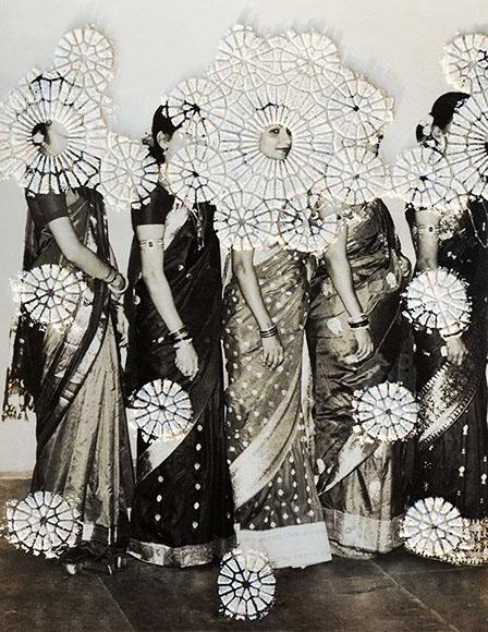 Priya Kambli, Mami and Her Sisters , 2016, archival inkjet print