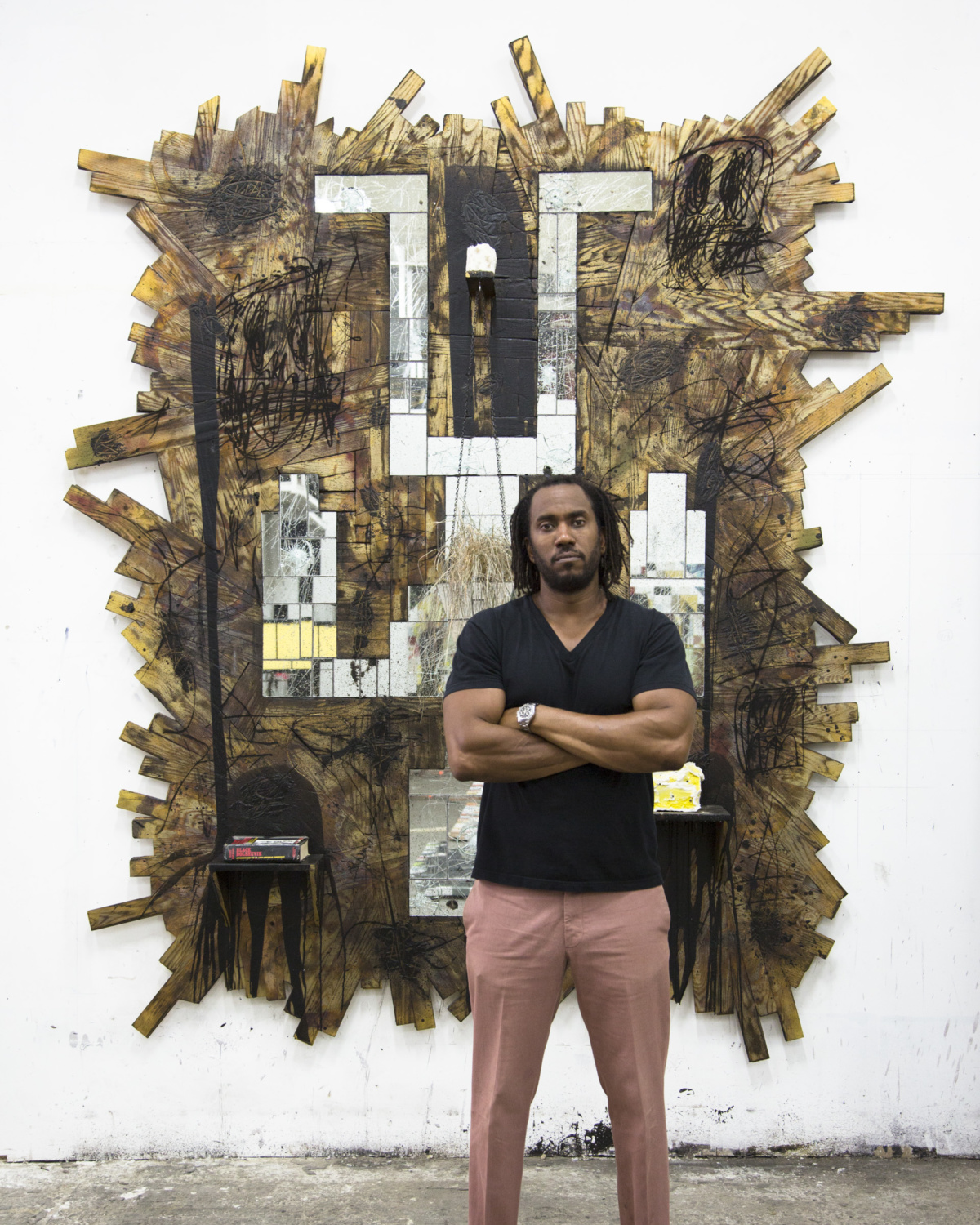 Rashid Johnson, photographed by Hank Willis Thomas