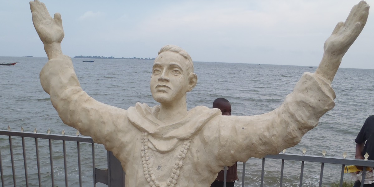 Statue of Fr. Lourdel, MAfr., first White Father in Uganda