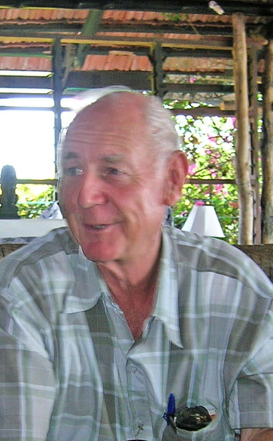 Fr John Slinger when he was in Pemba.
