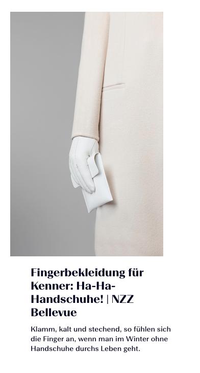 Ha-Ha-Handschuhe!
