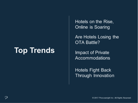 Hospitality trends in 2017