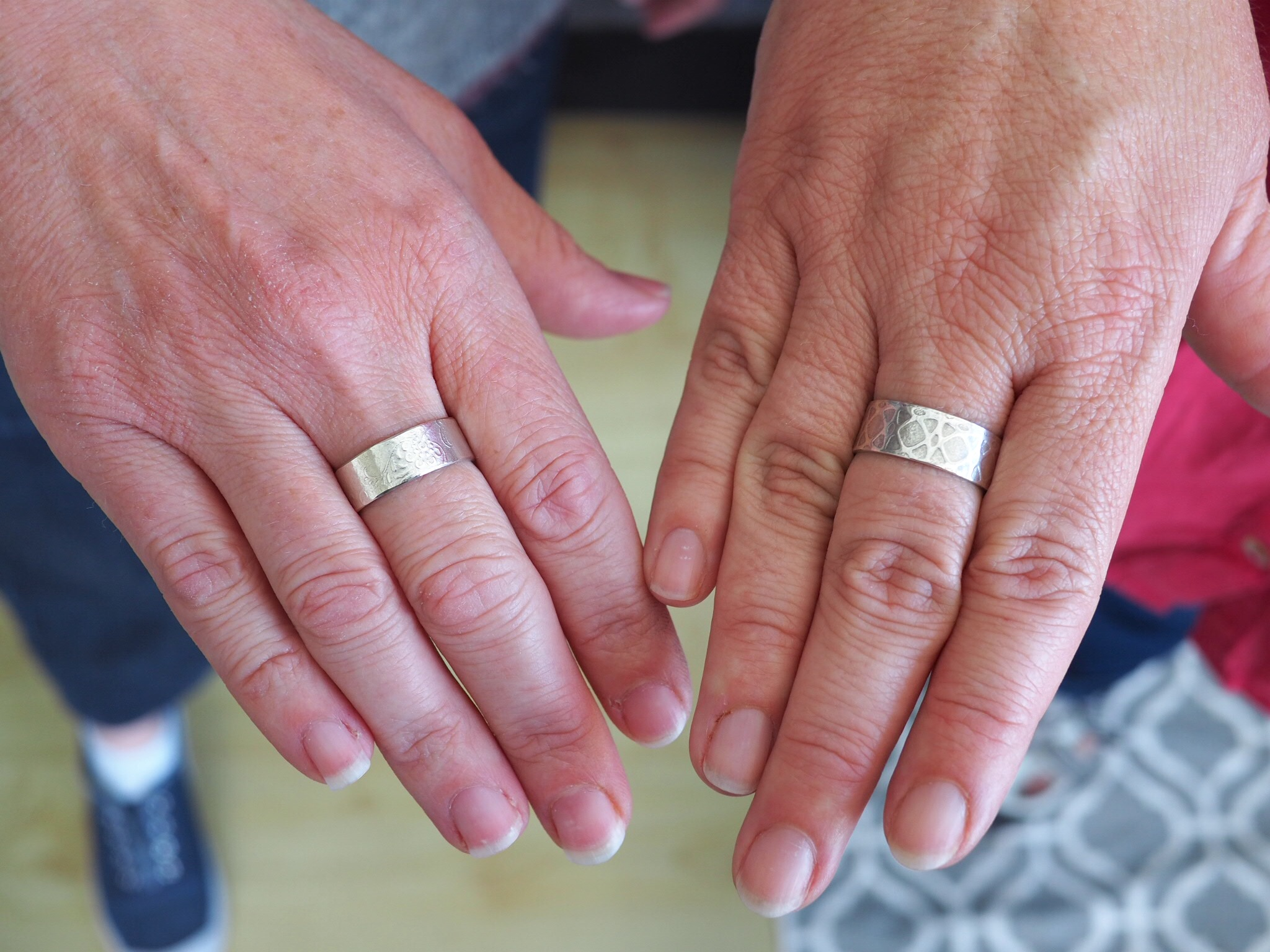 Kate Wainwright | Learn To Make A Silver Ring | Silversmith Lesson Sussex