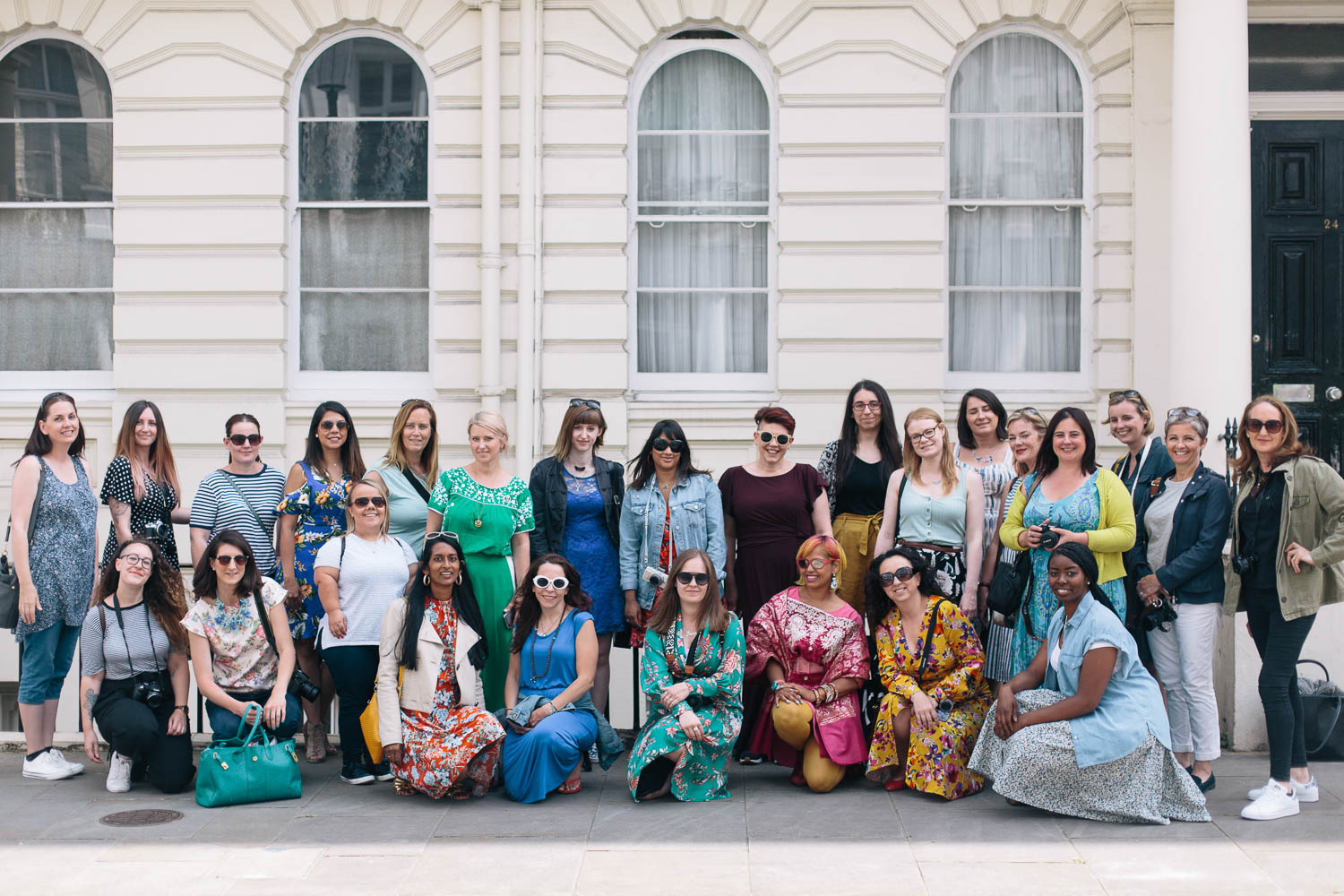 Group photo by www.josephgalvinphotography.com, courtesy of blogtacular.com