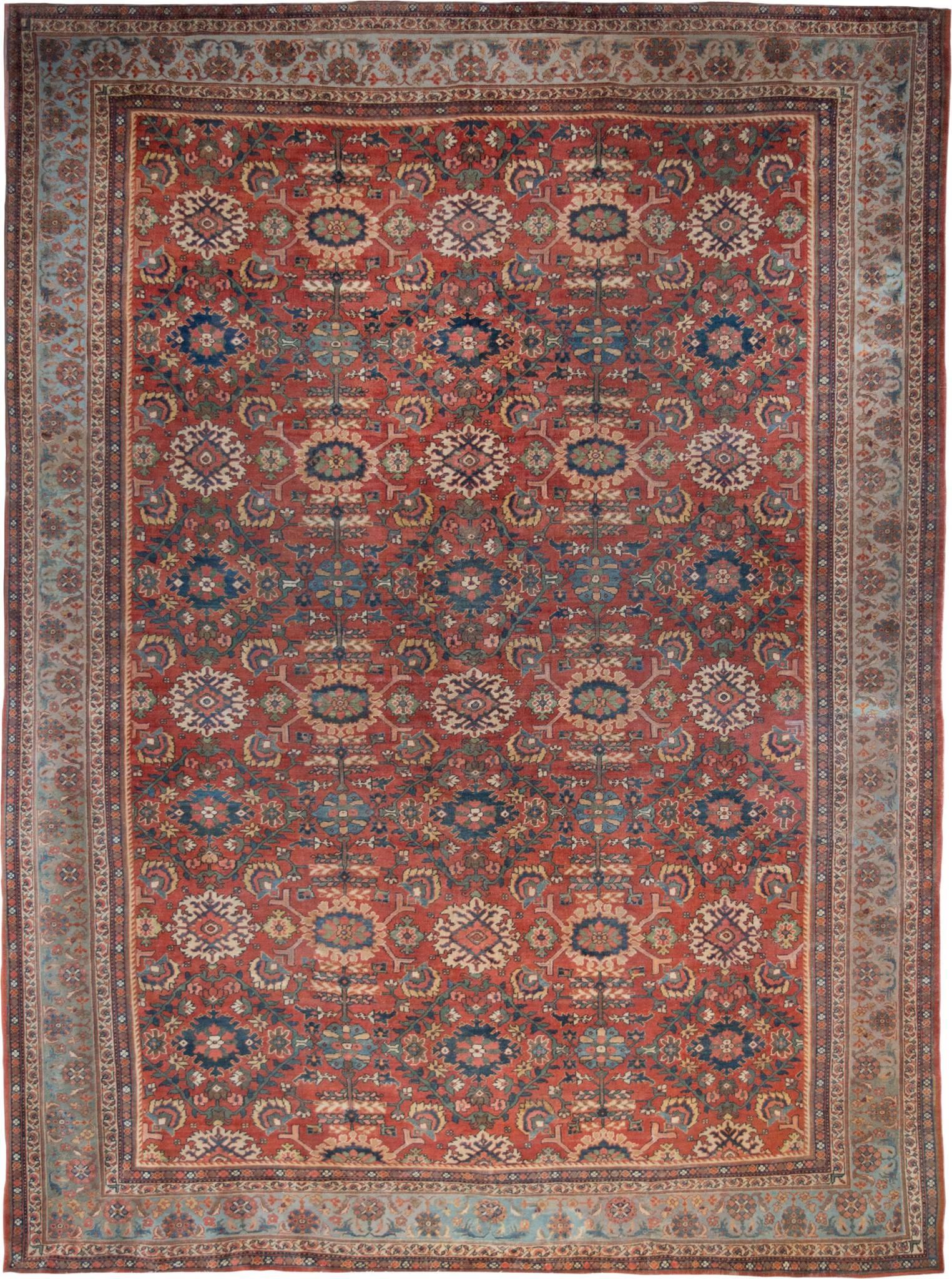 Antique rug, Meshkabad Rug, Mahal Rug
