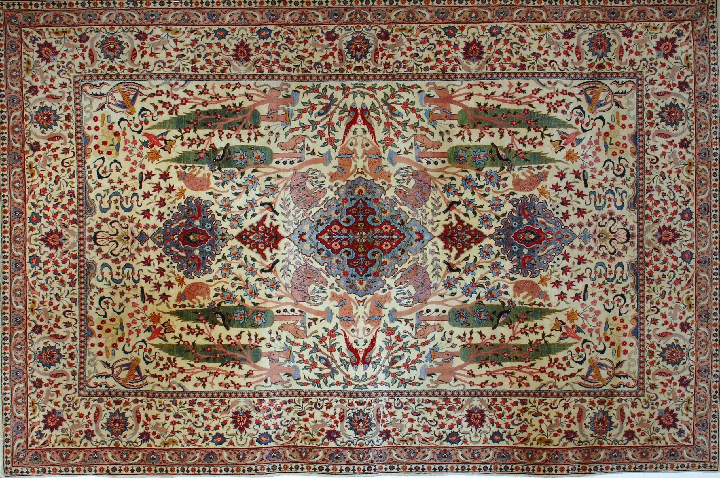 Isfahan, Esfahan, Persian Rug, Area Rug, Bakhtiyar, Dorset, Hampshire, Wiltshire