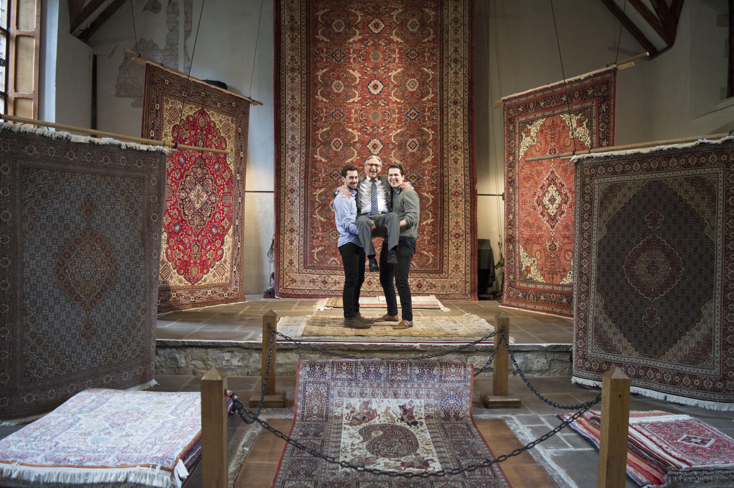 Salisbury, Persian Rug, Persian Carpet, Rug, Hampshire, Bakhtiyar, Medieval Hall, Persian Rug Hampshire, Persian Rug Wiltshire, Wiltshire