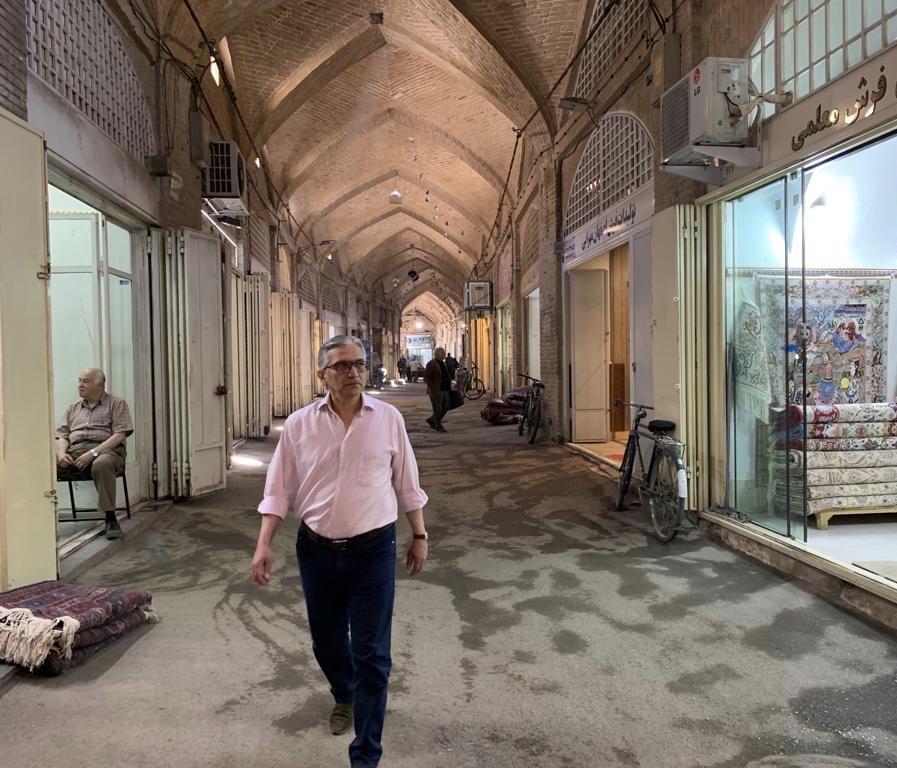 Masoud Mazaheri, Esfahan, Bazaar, rug, Persian rug, carpet, Persian Carpet, Dorset, Wiltshire, Hampshire, Interior Design, Exhibition