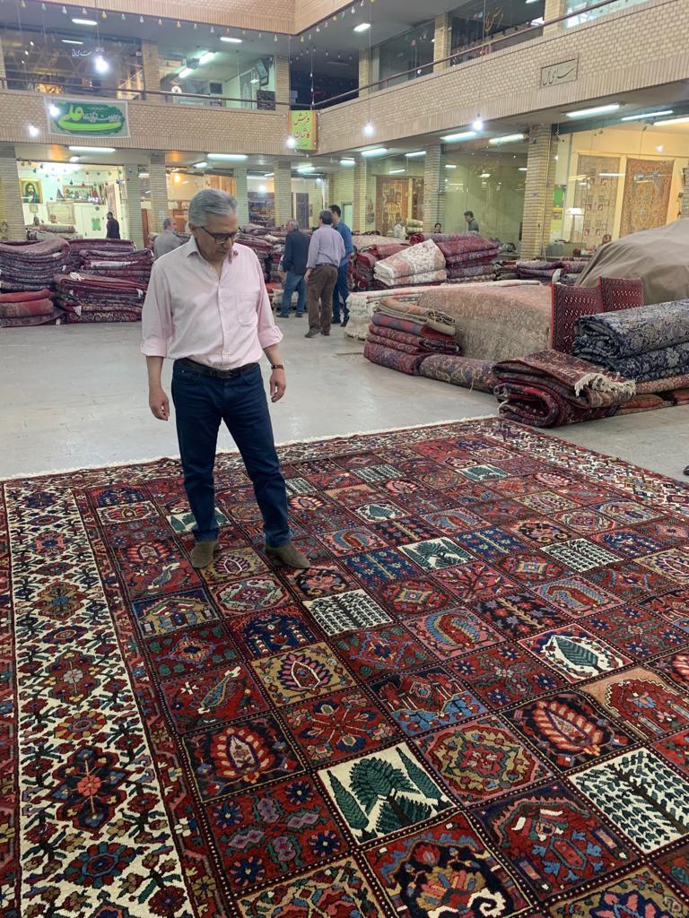 Bakhtiyar, Esfahan, Isfahan, rug, bazaar, persian rug, carpet, persian carpet, interior design, exhibition, dorset, wiltshire, hampshire