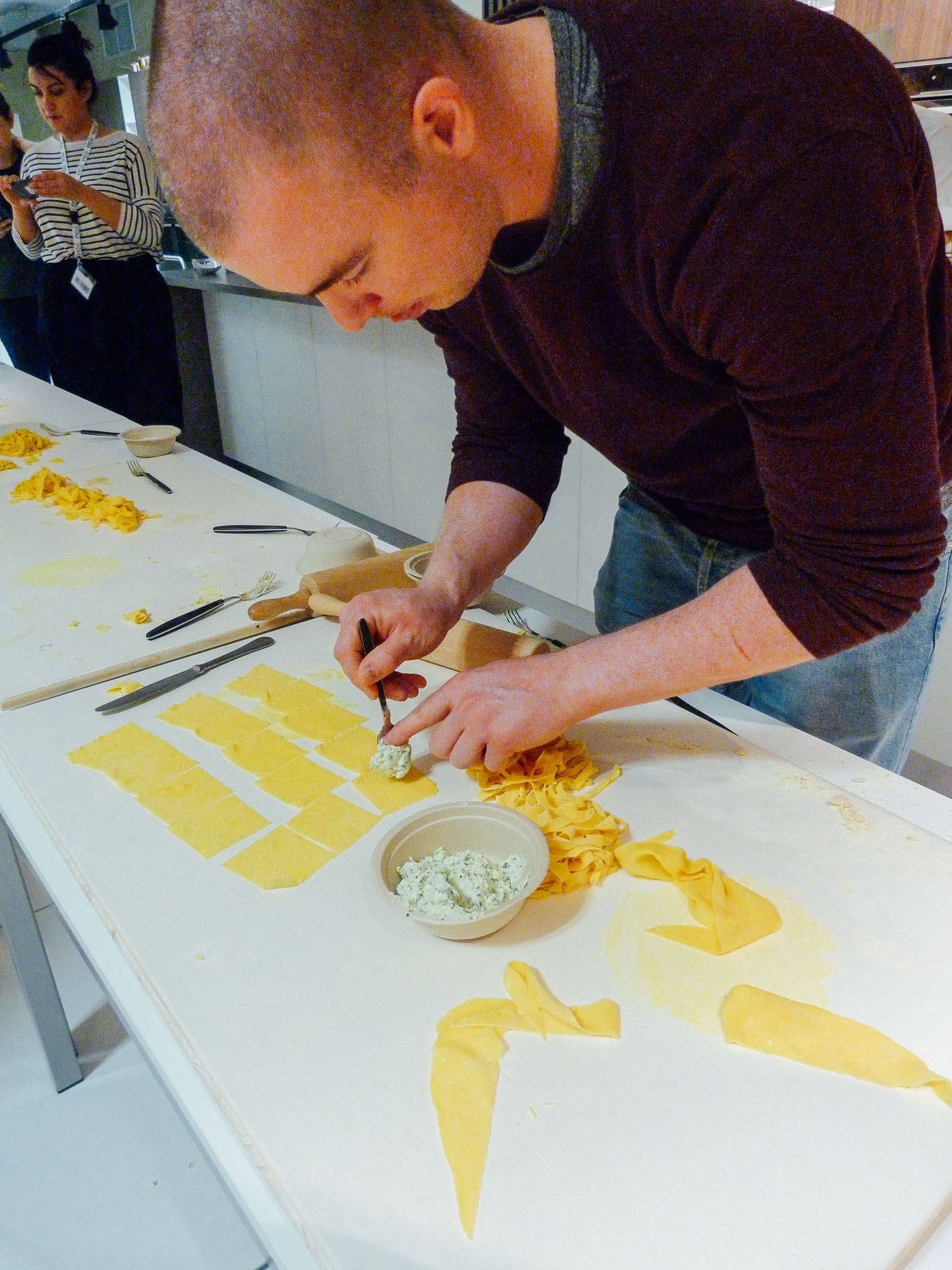 Oakman Inns Head Chefs undertake pasta masterclass at FICO Eataly World in Bologna