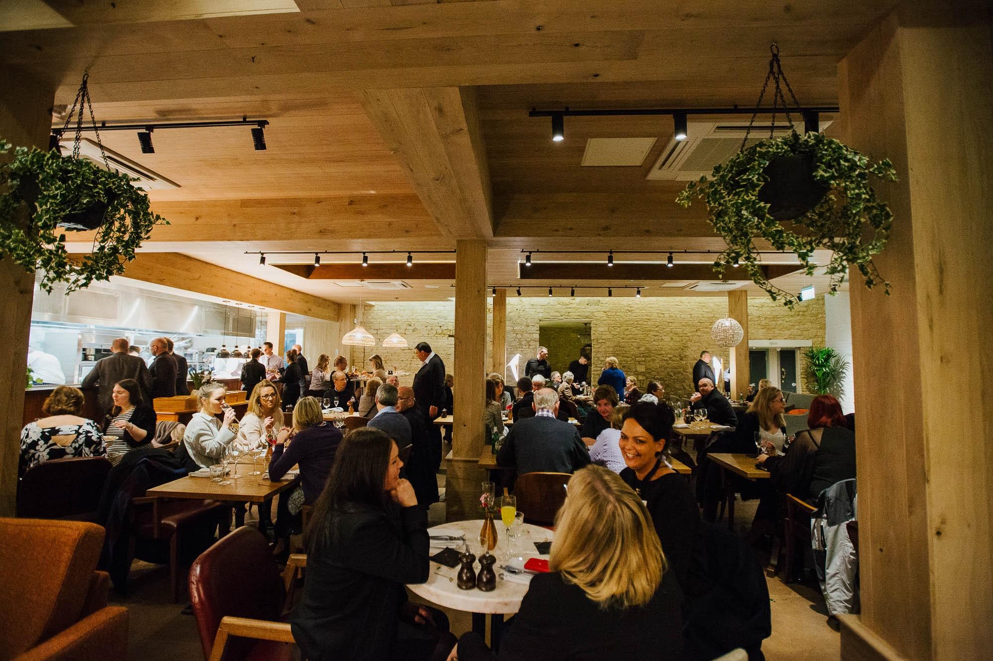 The Restaurant of the Cherry Tree pub in Olney, Buckinghamshire