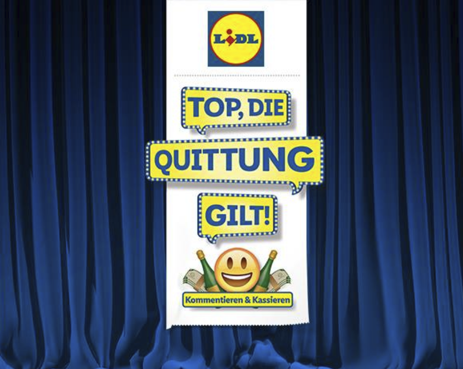 Top, die Quittung gilt! | Lidl