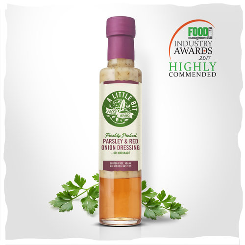 Fresh Parsley and Red Onion Dressing & Marinade -