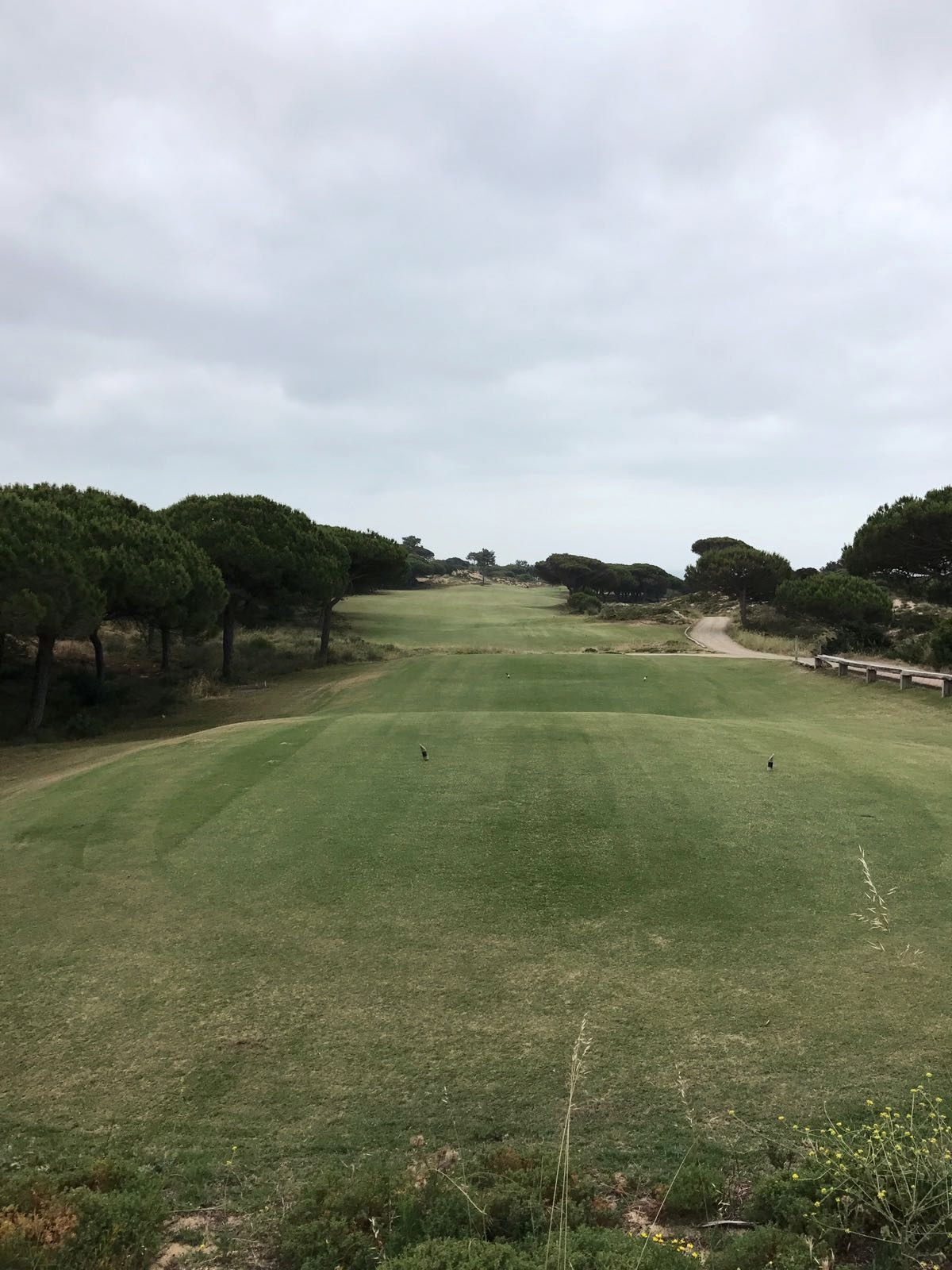The First hole at Oitavos Dunes