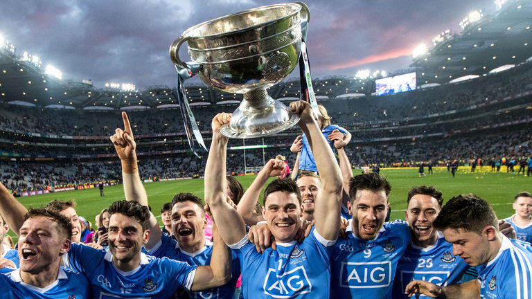 Dublin were last years Champions *Courtesy of Sky Sports