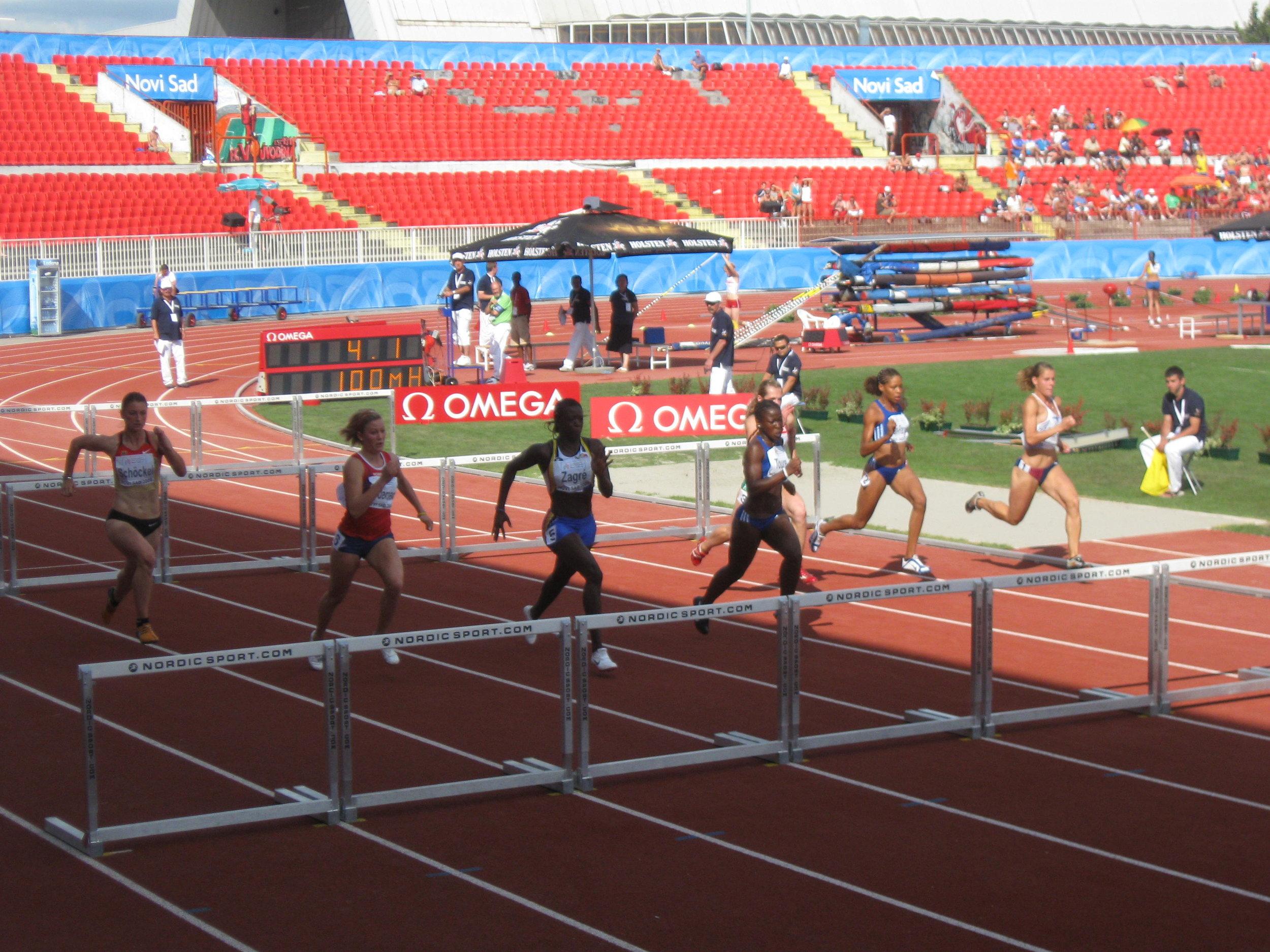 Athletics : Reinvention required
