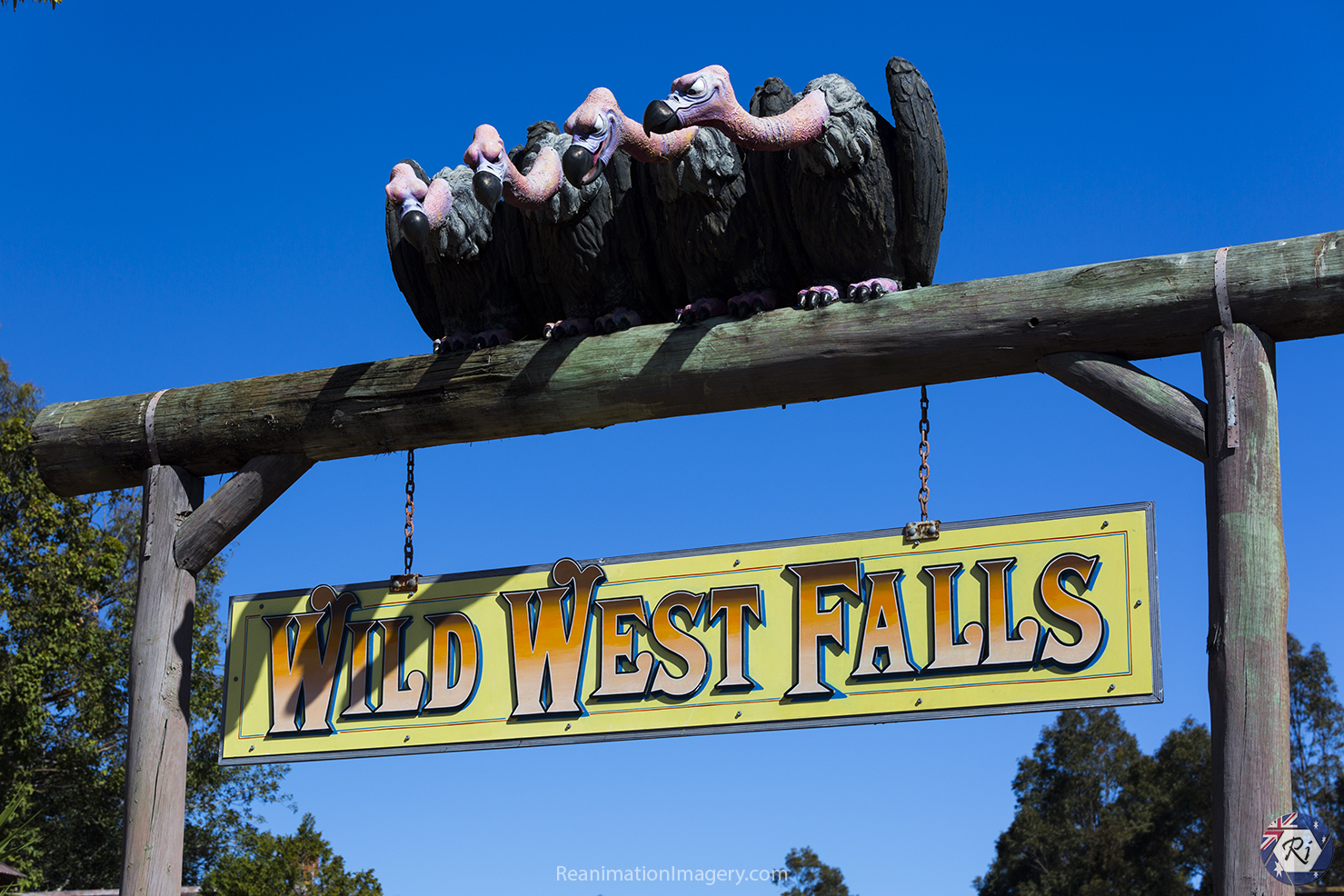 Wild West Falls