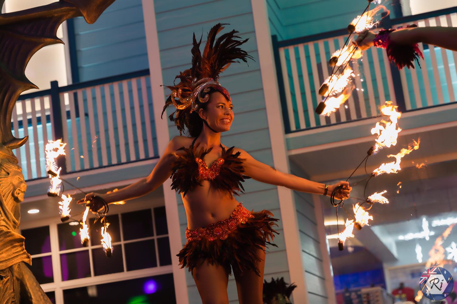 Fire Dancing