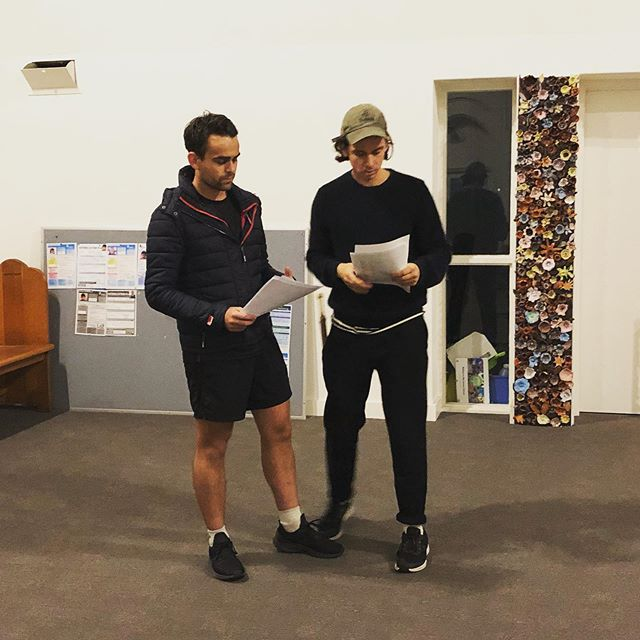 Rehearsals for #Toby begin! A special one-off performance coming up @lamamatheatre on June 1st. See link in bio for tix.  #reactiontheatre #toby #australianplays #australianplaywright #theatre #dystopia #theatrearts #lamama #playreading