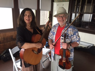 JOANNE SPIES AND DOUG TANNER AT BASCOM LODGE