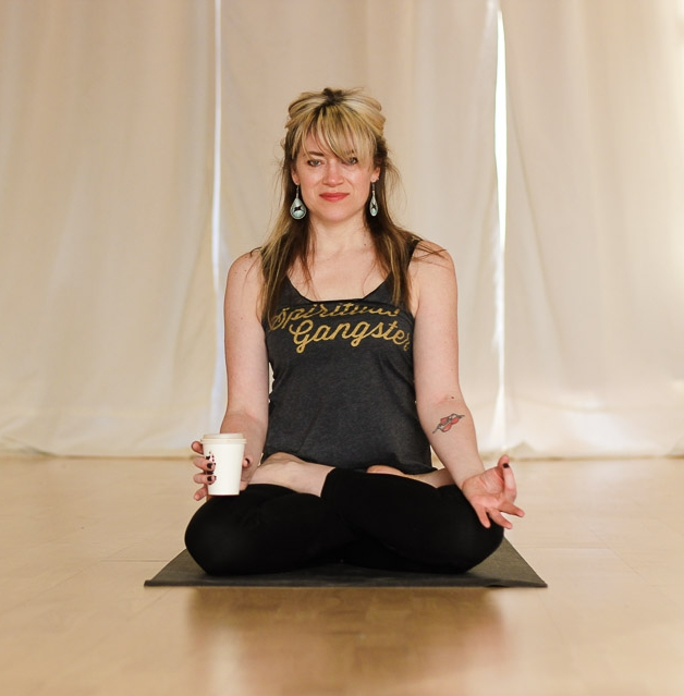 Stacey Chavis RYT 500hrs, Owner of The Yoga Room, Edinburgh