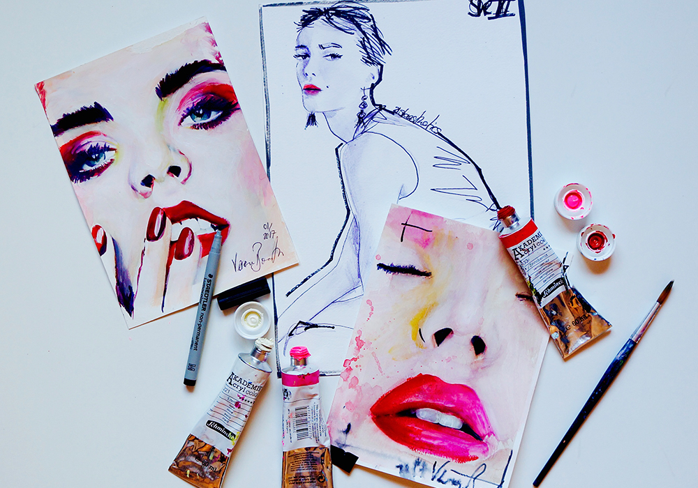 YOU GOTTA KNOWIllustratorin verena bonath - Miriam lernte kürzlich die junge Künstlerin Verena Bonath bei einem Projekt für L'Óréal kennen. Hier im Interview erfährst du mehr über das Leben und die Welt eines spannenden Talents, dessen Arbeiten sich um Beauty und Fashion dreht.LOS GEHT'S