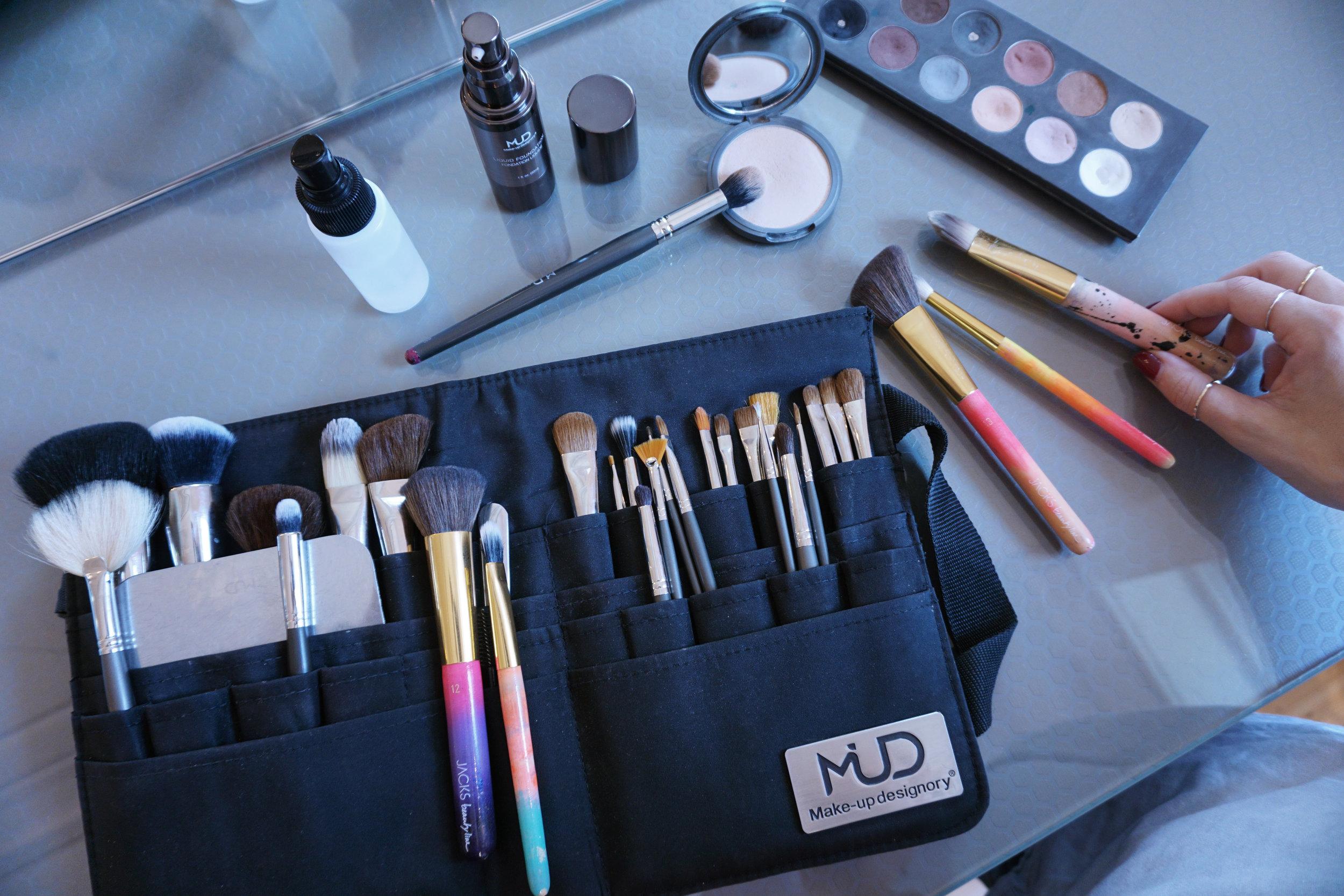 Pinseltasche_Brushbelt_Makeup_designory_Schminkpinsel