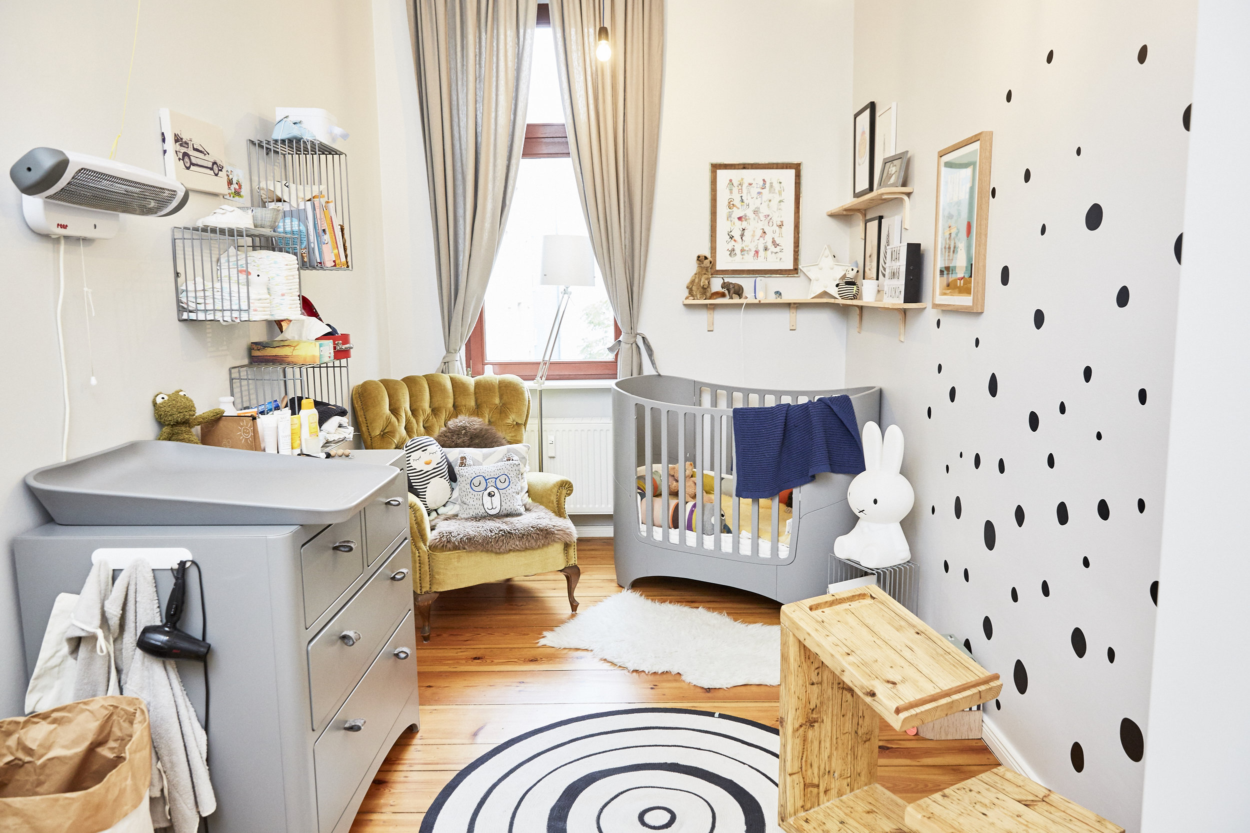 Noahs Kinderzimmer habe ich in Kooperation mit der   Kleinen Fabriek   zusammen eingerichtet.