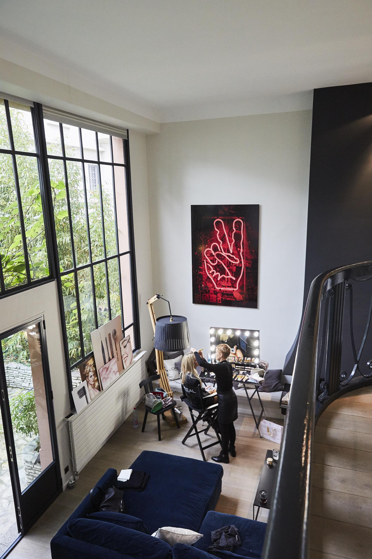 Mein Beauty Office im Pariser Townhouse - was für eine Location!