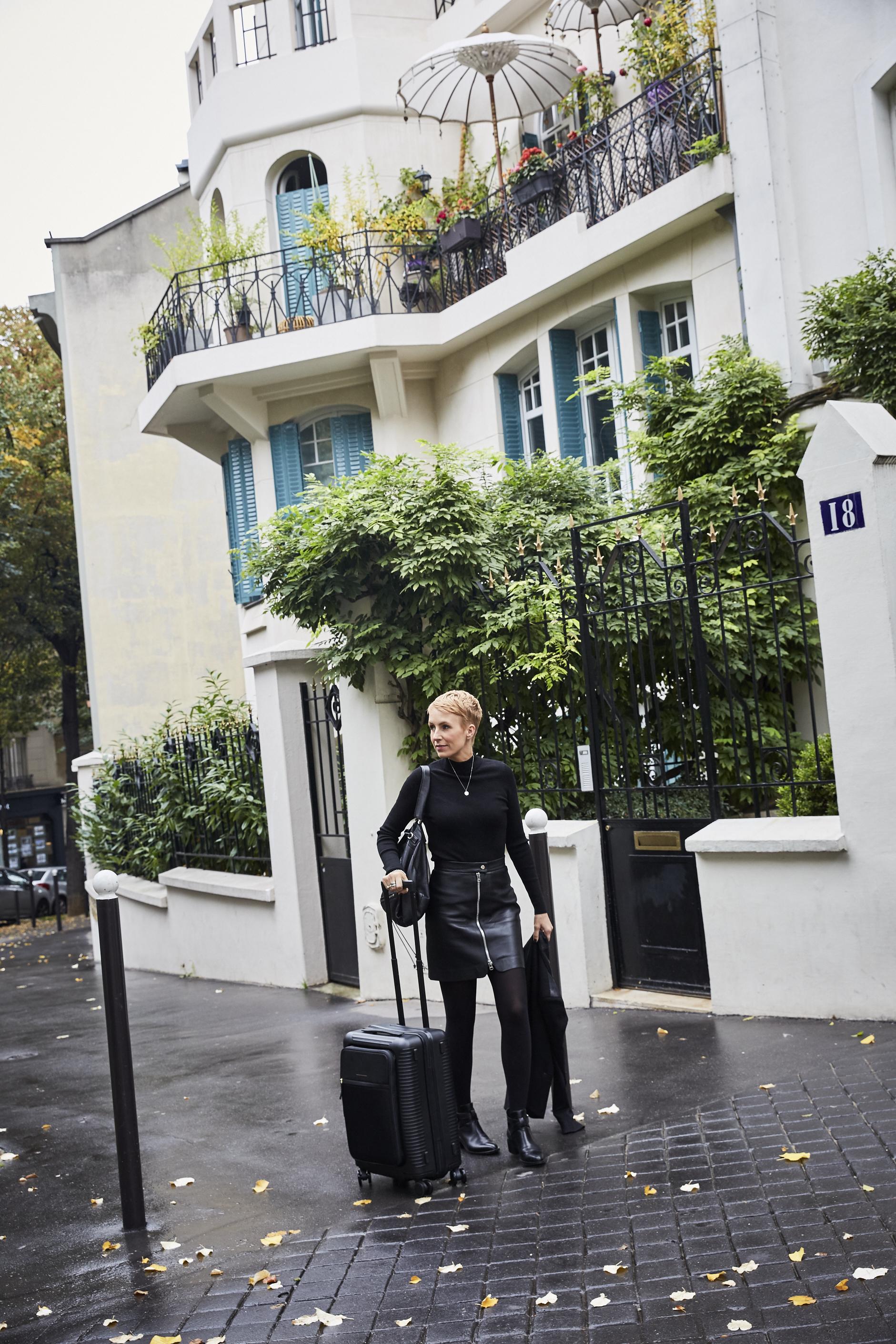 Auf dem Weg in das L´Oréal Townhouse in Paris