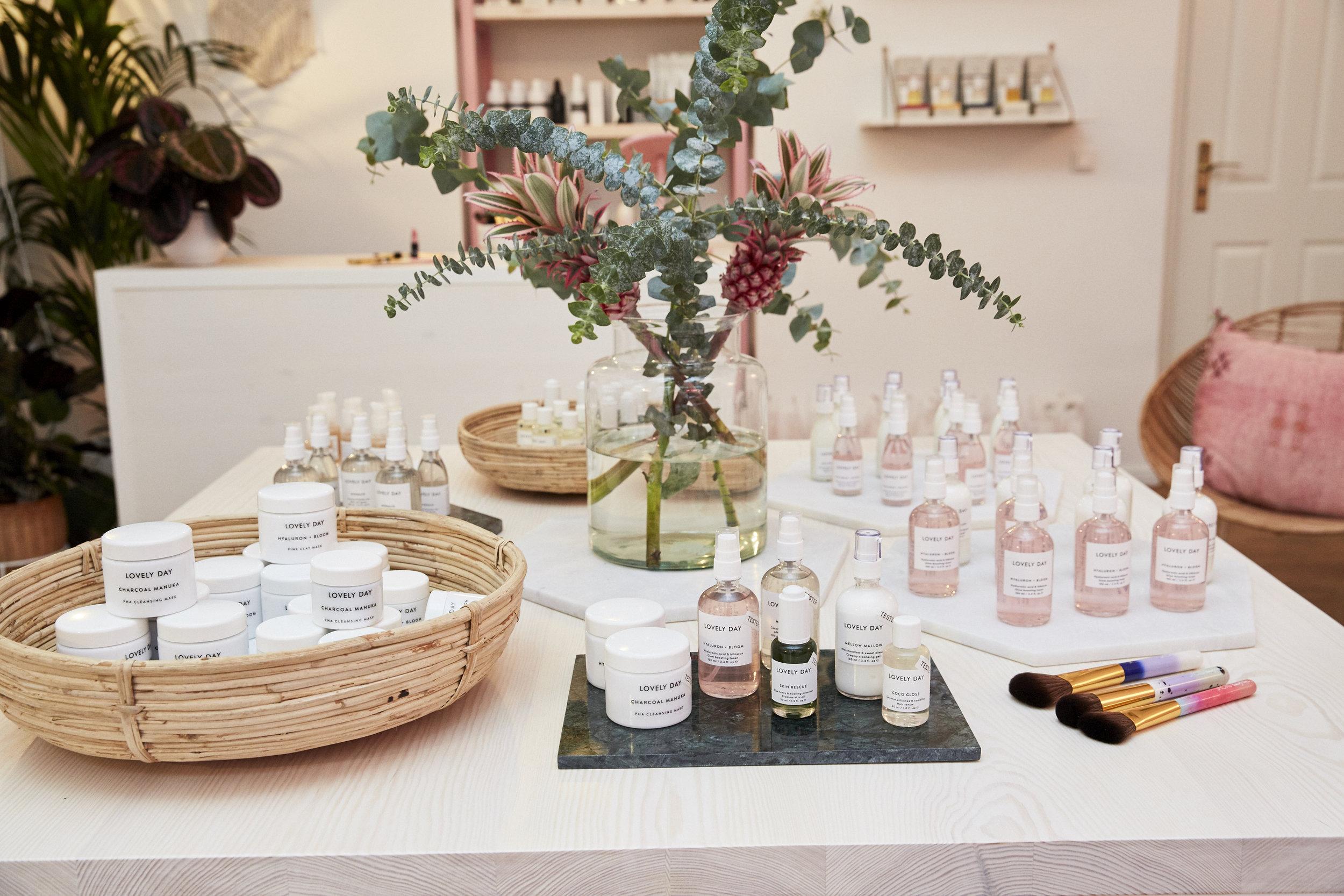 Willkommen im Beauty Salon von Lovely Day Botanicals