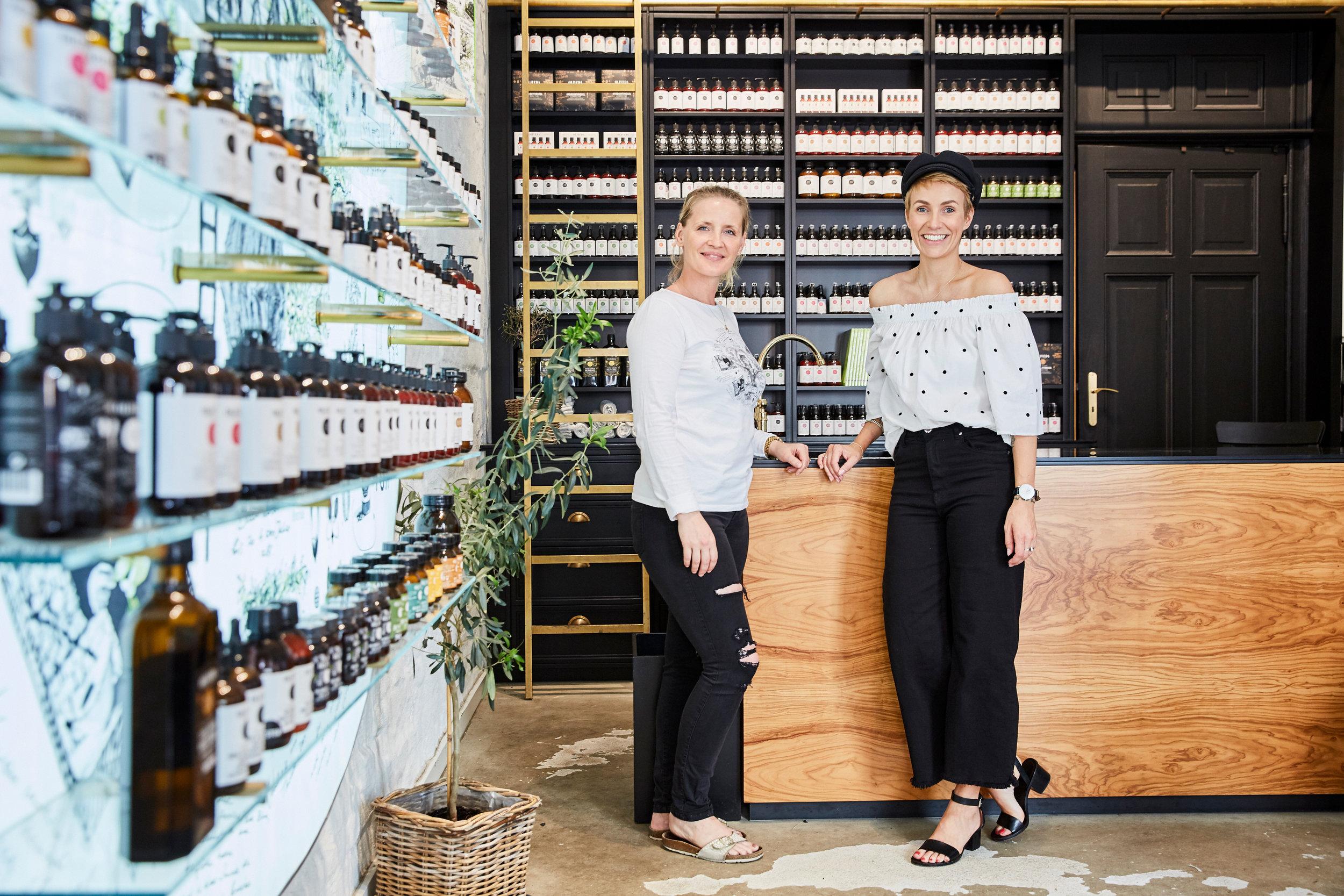 Bei OLIVEDA erhält jeder eine ausführliche Beratung zu den Produkten. Der wunderschöne Store lädt einfach zum Verweilen ein.