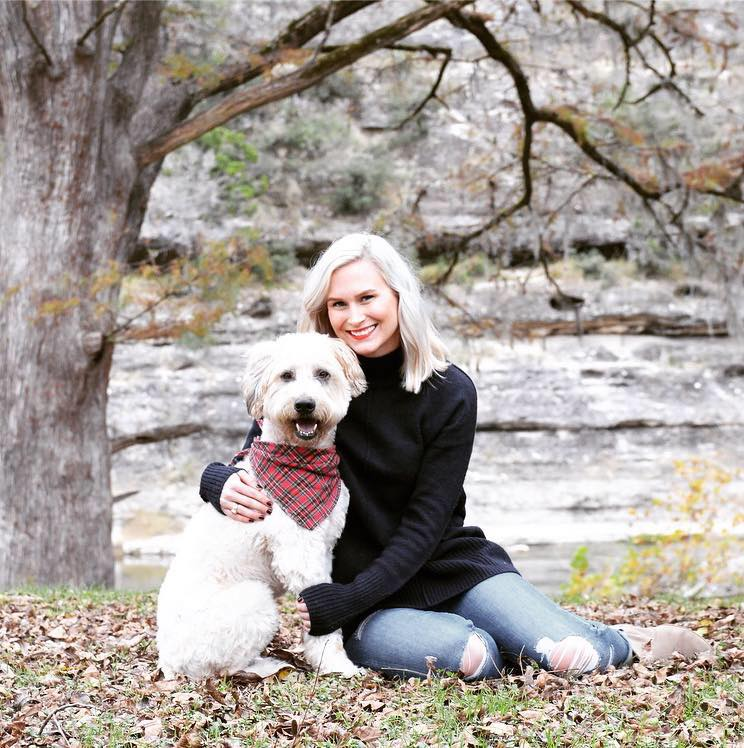 Rickilee and her dog Rusko