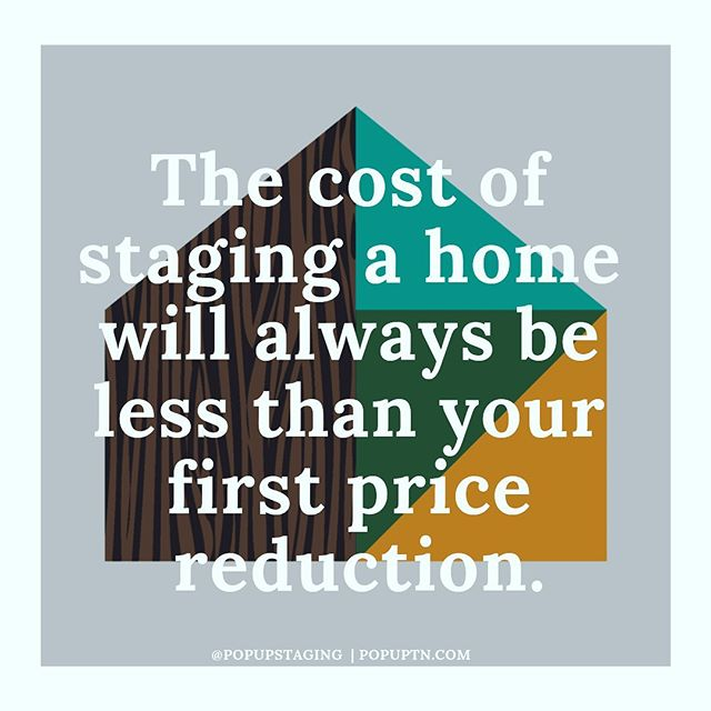 | A Little Monday Motivation | Staging a listing before it hits the market adds more value for your clients and less headache for you. · · · Call or email for a free quote and let us partner with you for a successful and quick home sale!