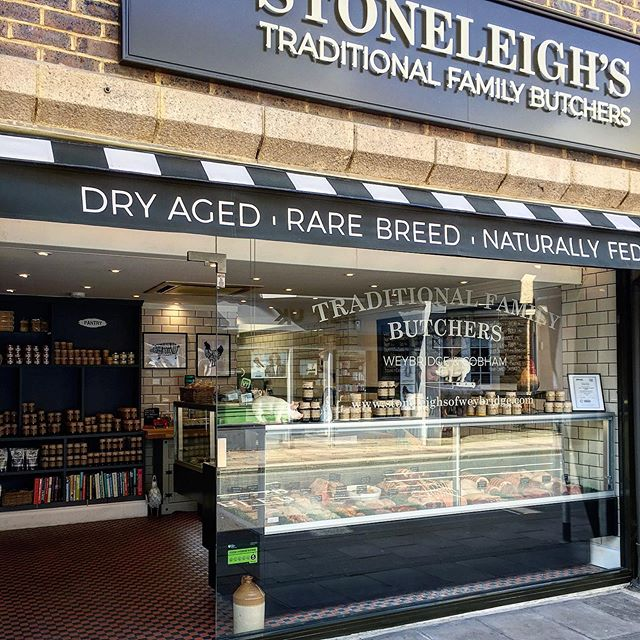 Stoneleighs family butchers.... cobham & weybridge open today and Saturday for all your Easter / BBQ needs 🙈. . . . #butchersofinstagram #butcher #meat #easter #lovewhereyouwork #lovewhatyoudo #butcherlife #surrey #cobham #weybridge #shoplocal #food #steak #dryagedbeef #dryaged #beef #pork #lamb #chef #flavour #keto