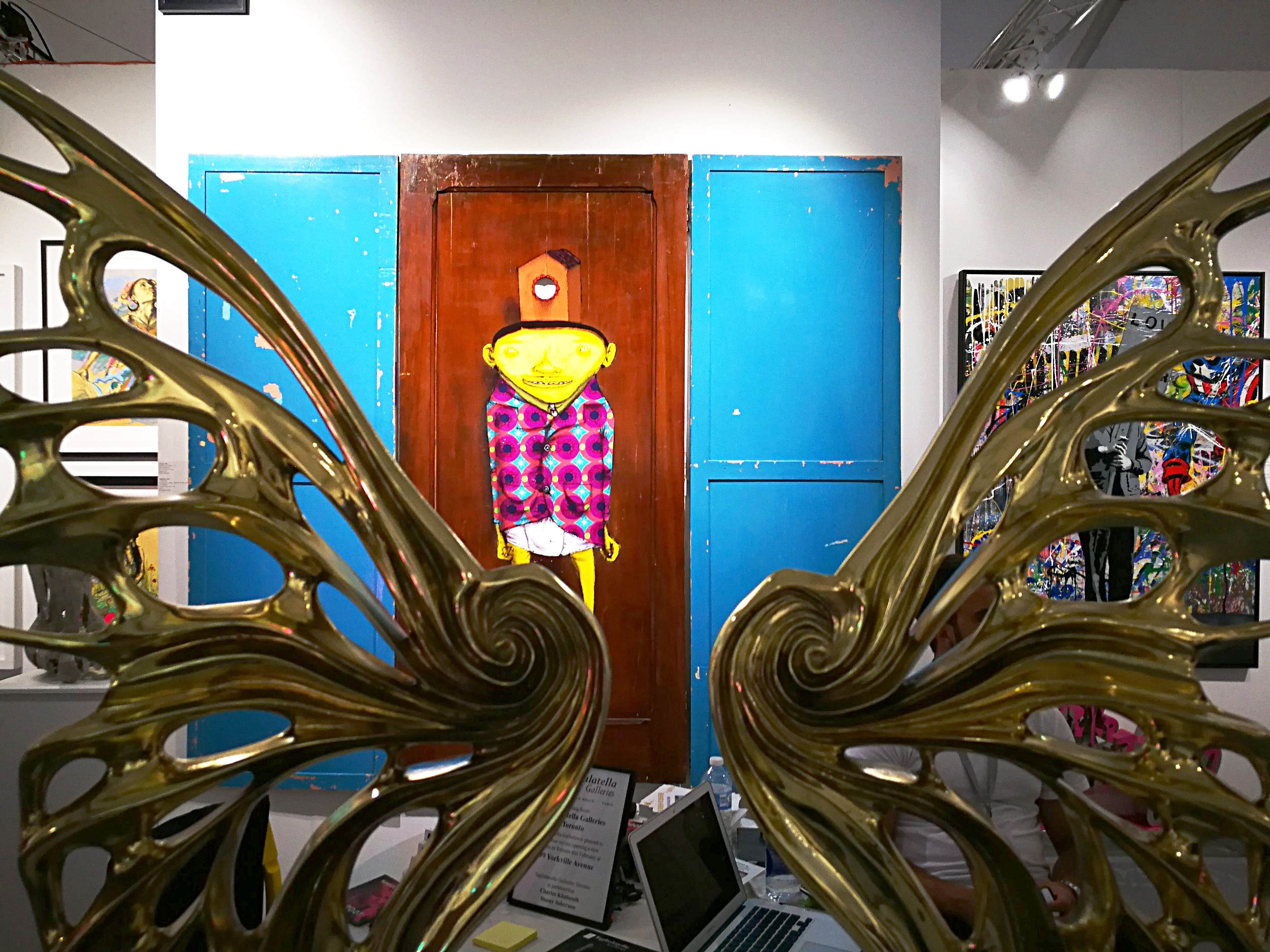 @TaglialatellaGalleries at Scope Miami