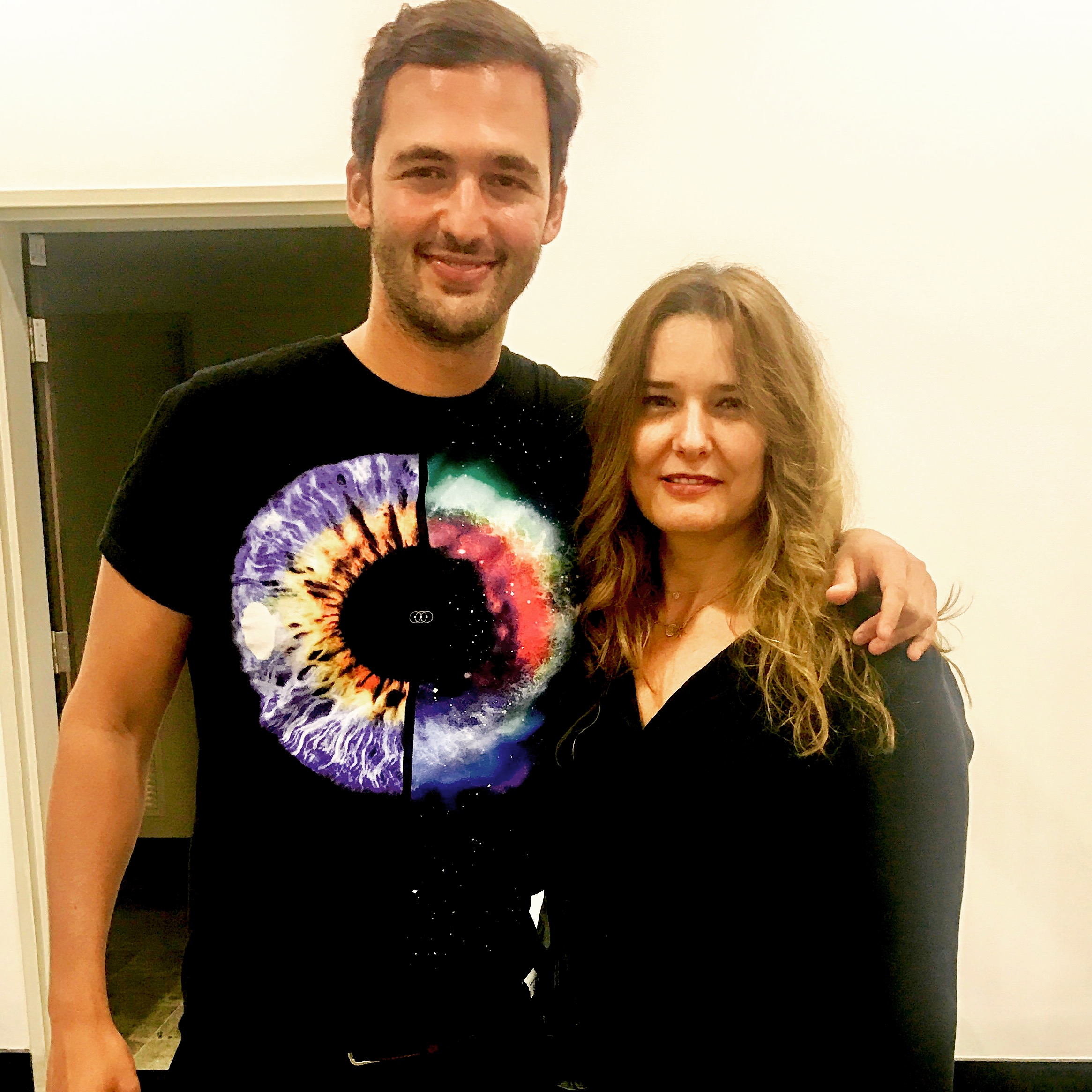With Jason Silva. Do check out his inspiring talks on thisisjasonsilva.com