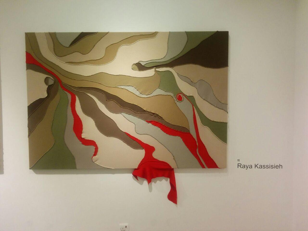 Beautiful textile work by Raya Kassisieh