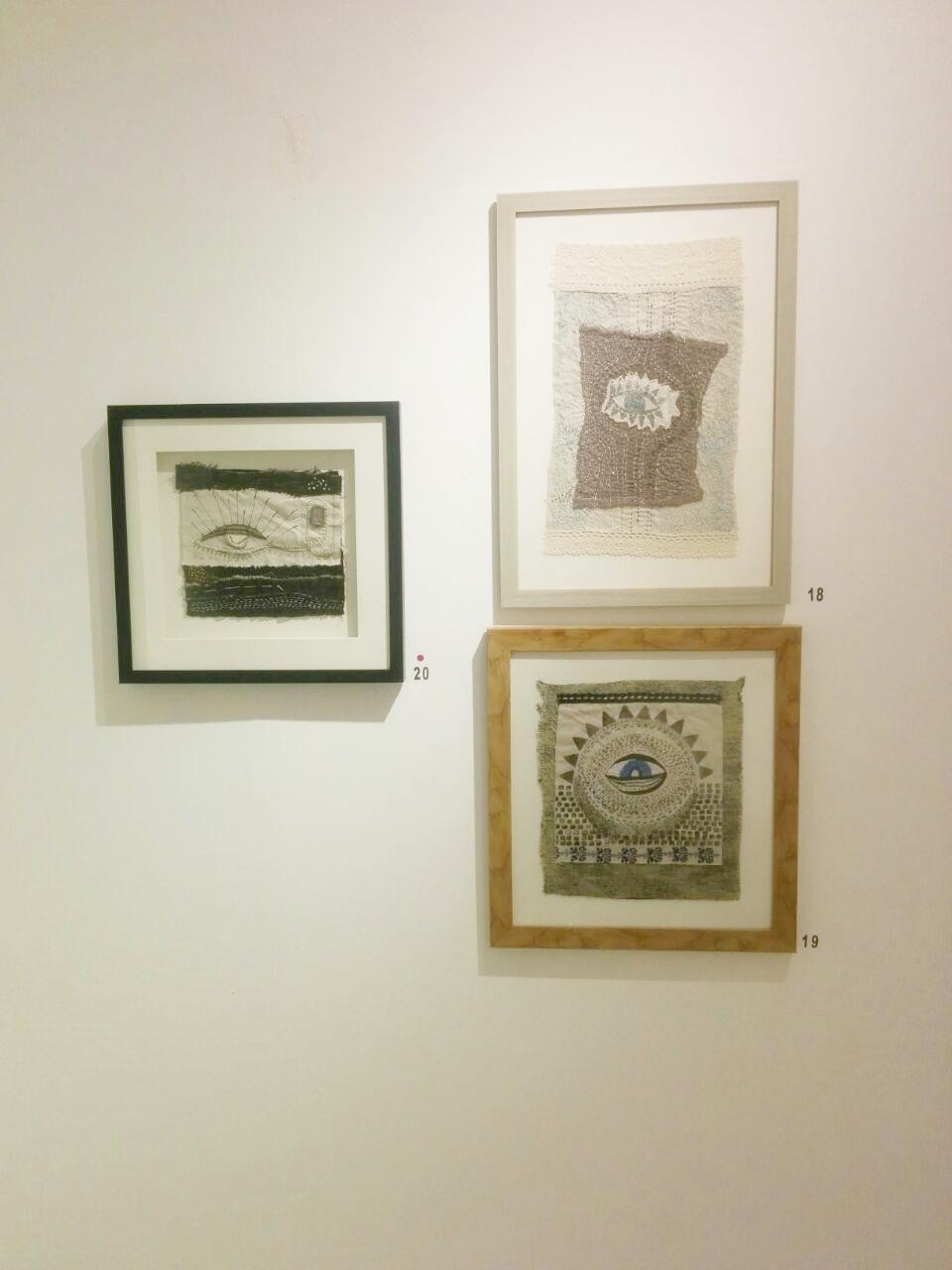 Shereen Qutteineh's interpretation of art using textiles