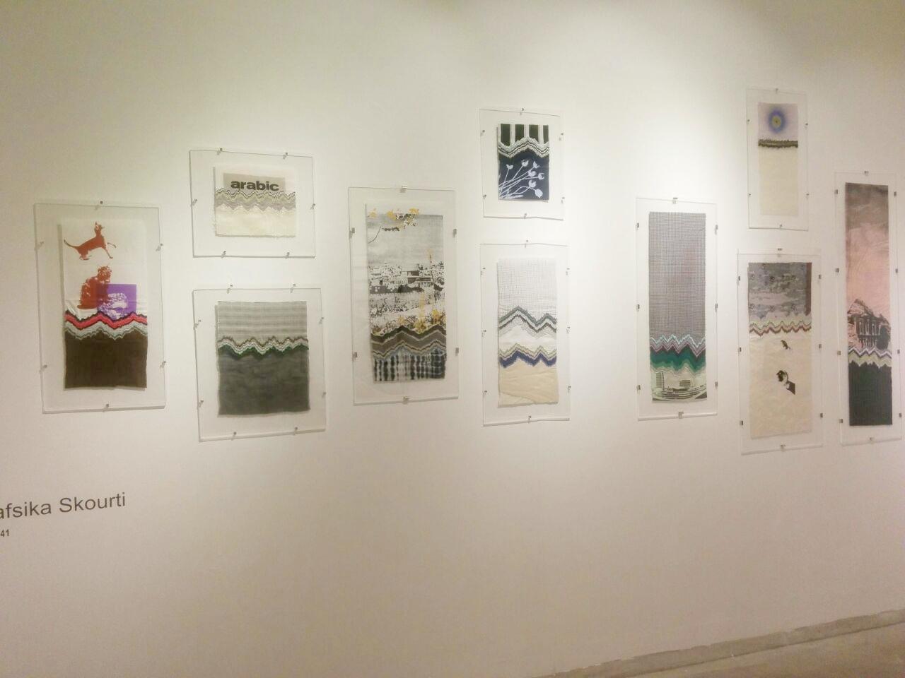 Dainty, beautiful works by Nafsika Skourti