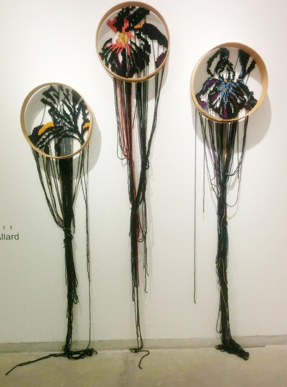Johanne Allard's wool works