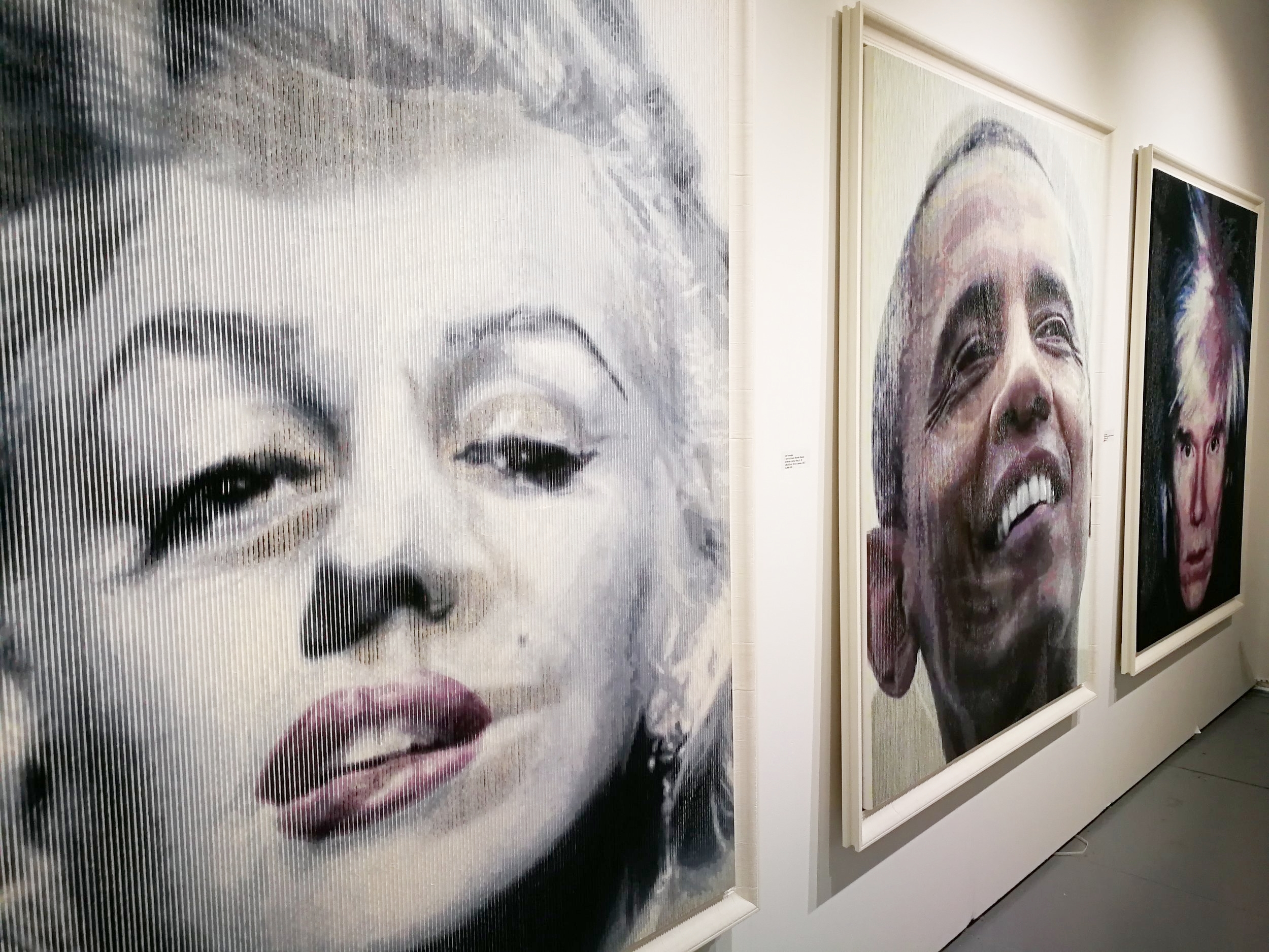 Martin Luther King becomes Obama and Warhol becomes...