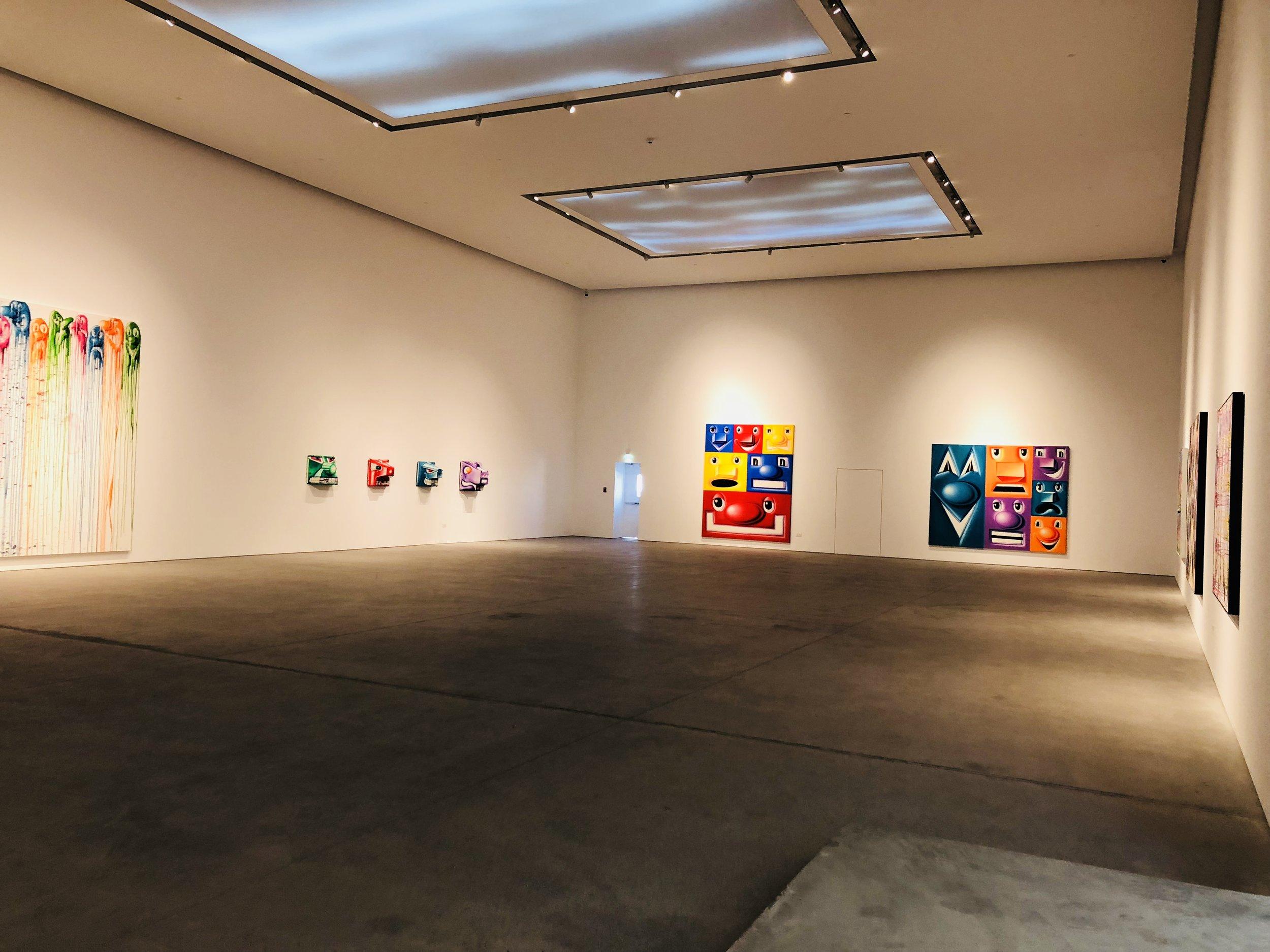 Kenny Scharf's works at Leila Heller Gallery