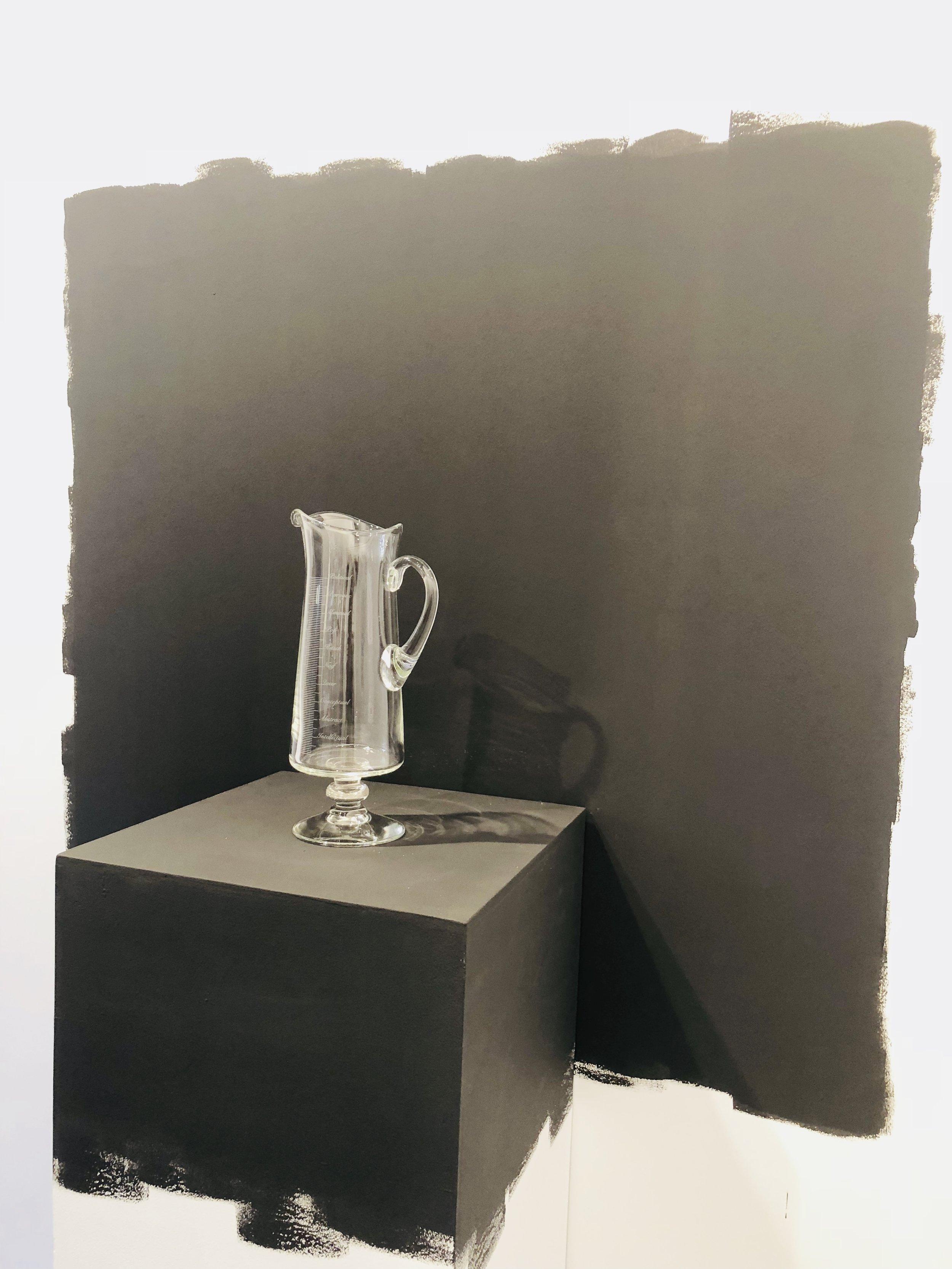 Miguel Ángel Gaüeca's Snell Jug at Galeria Espacio Minimo
